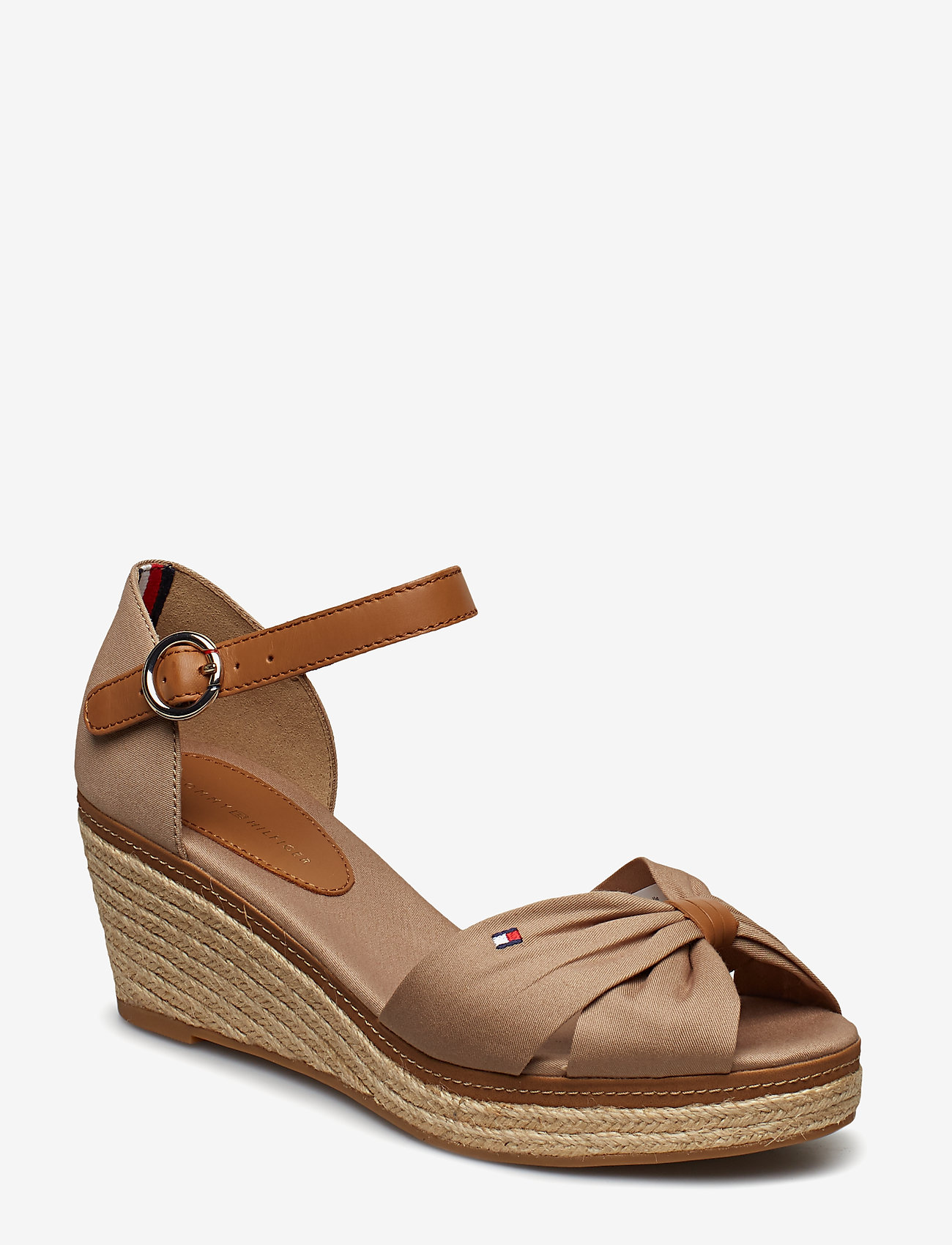 Tommy Hilfiger - ELBA 40D* - heeled espadrilles - cobblestone - 0