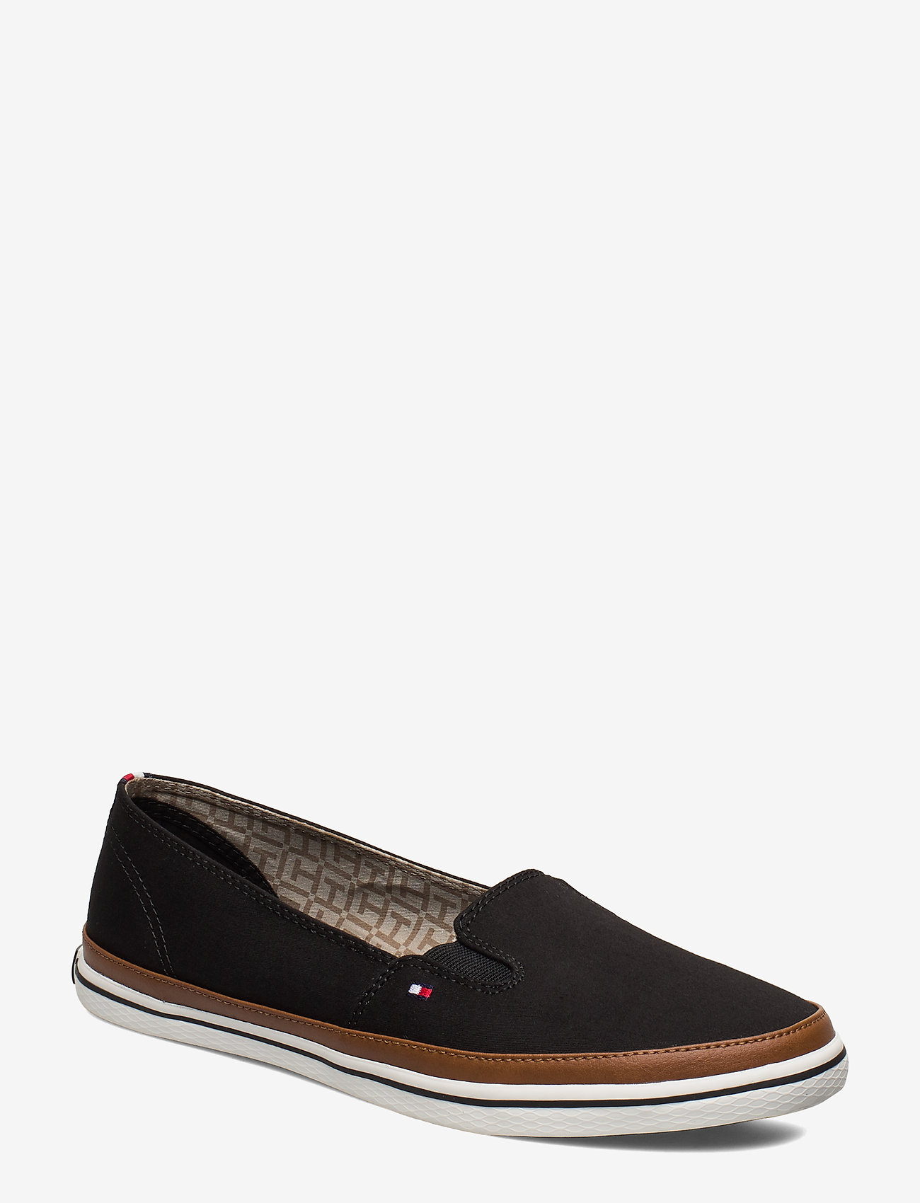 Tommy Hilfiger - ICONIC KESHA SLIP ON - loafers - black - 0
