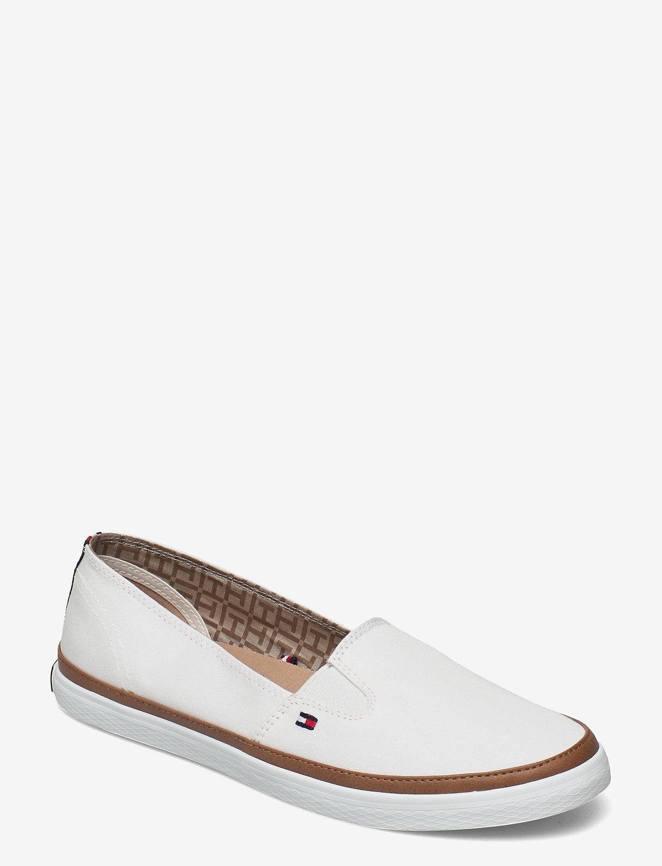 Tommy Hilfiger - ICONIC KESHA SLIP ON - loafers - whisper white - 0