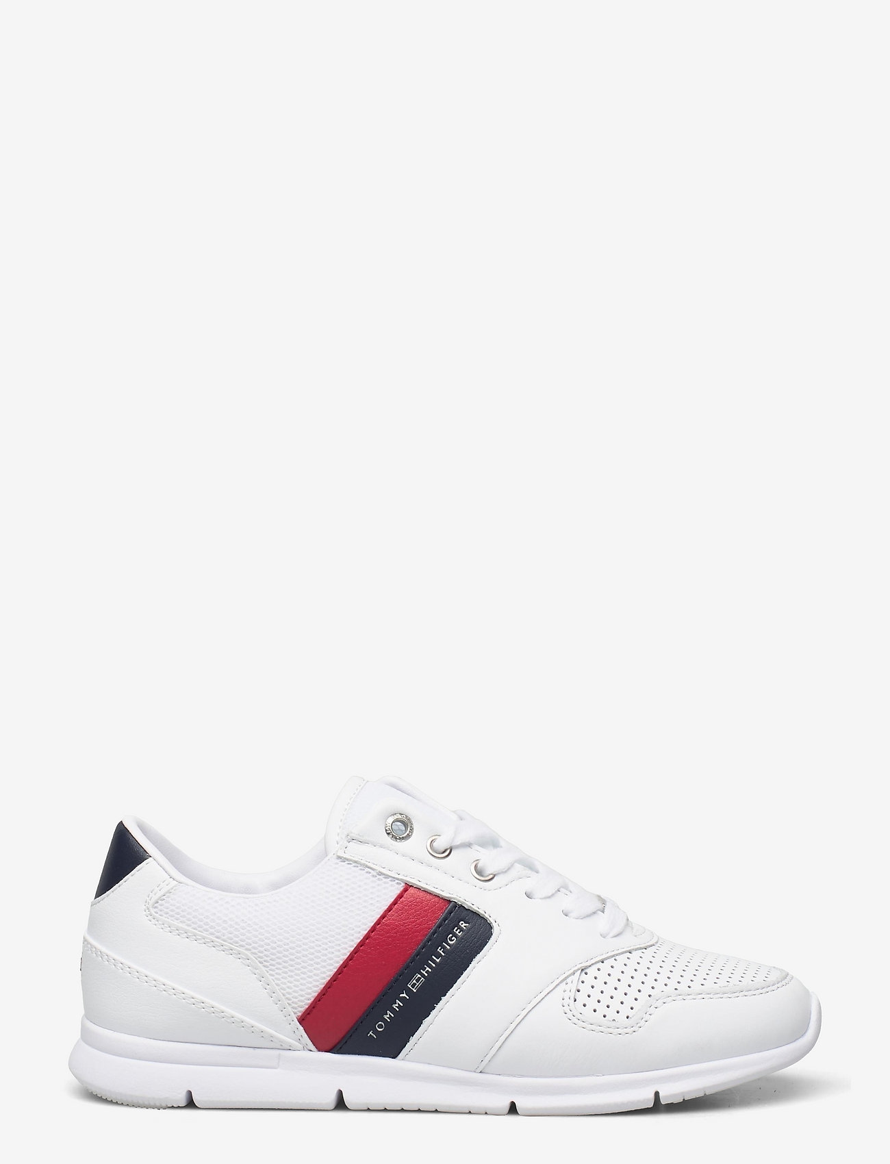 Tommy Hilfiger - LIGHTWEIGHT LEATHER SNEAKER - low top sneakers - rwb - 1