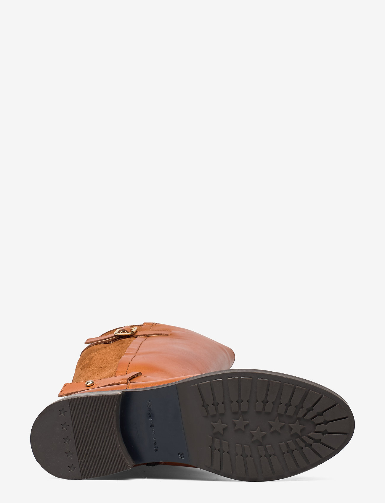 Modern Suede Longboot (Leather Brown) - Tommy Hilfiger