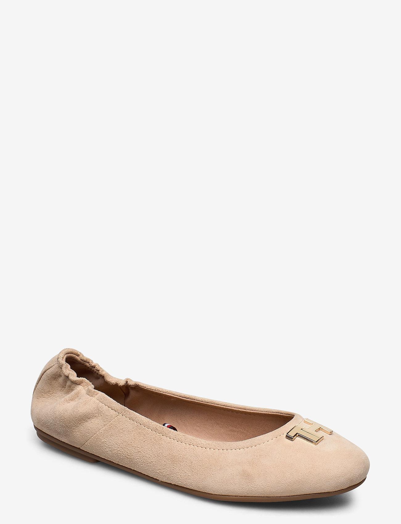 Tommy Hilfiger - TH HARDWARE BALLERINA - ballerinas - clayed pebble - 0