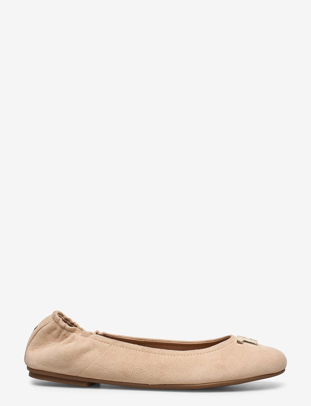Tommy Hilfiger - TH HARDWARE BALLERINA - ballerinas - clayed pebble - 1