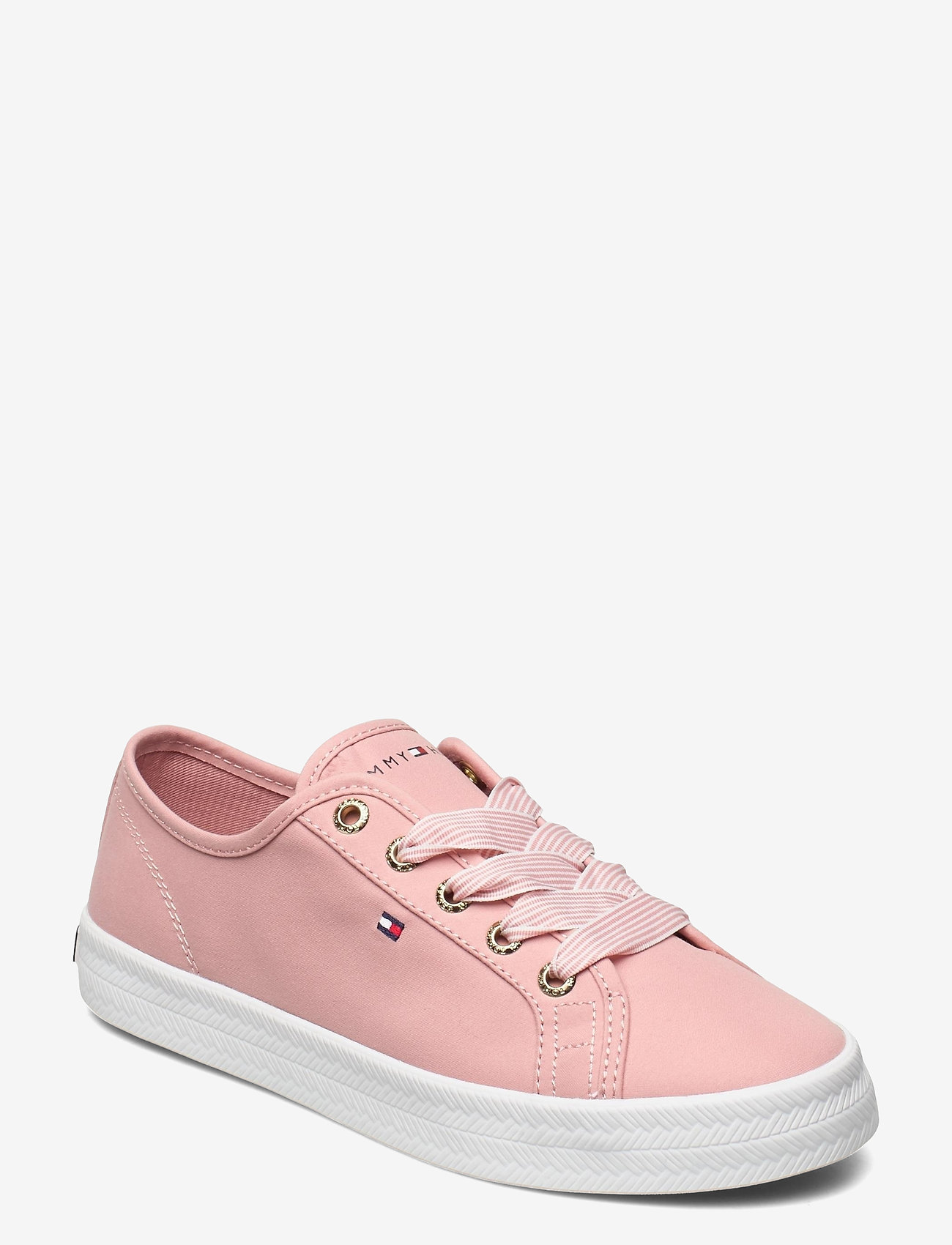 Tommy Hilfiger - ESSENTIAL NAUTICAL SNEAKER - low top sneakers - soothing pink - 0