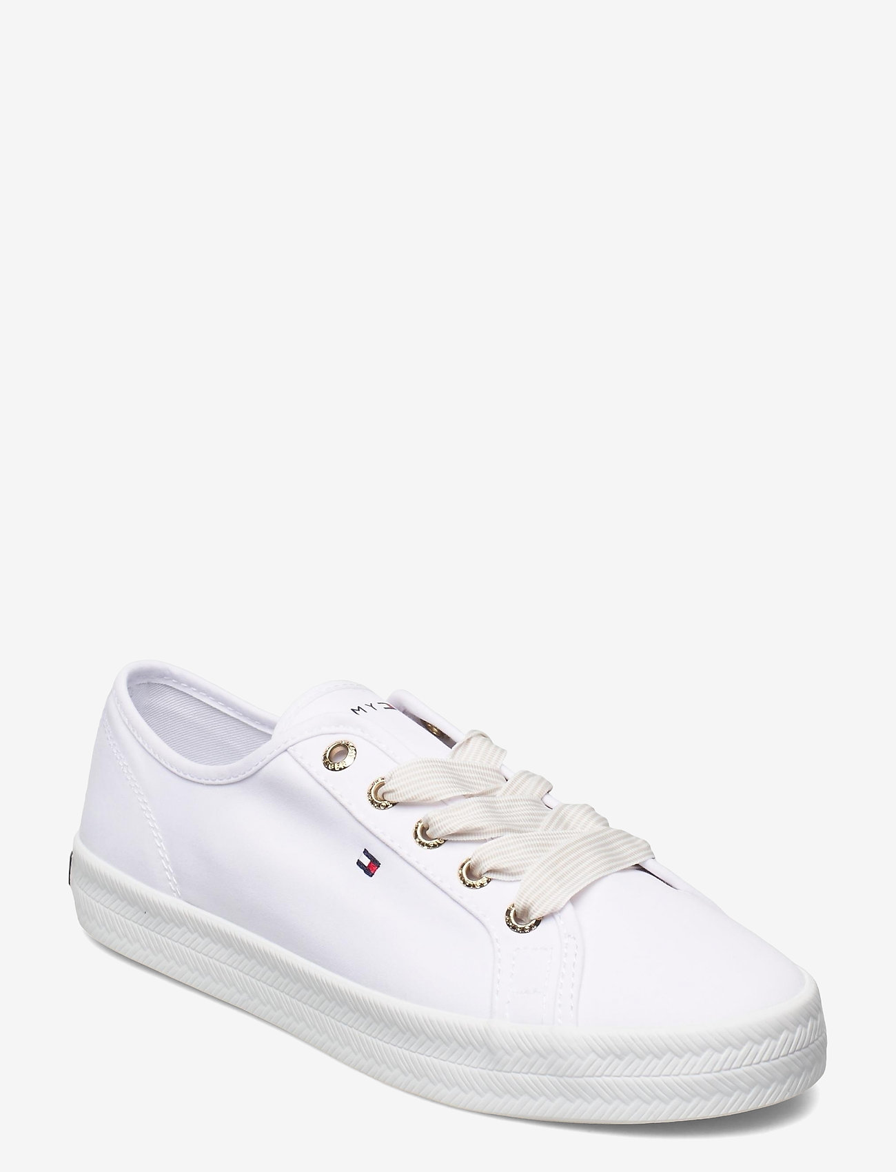 Tommy Hilfiger - ESSENTIAL NAUTICAL SNEAKER - low top sneakers - white - 0