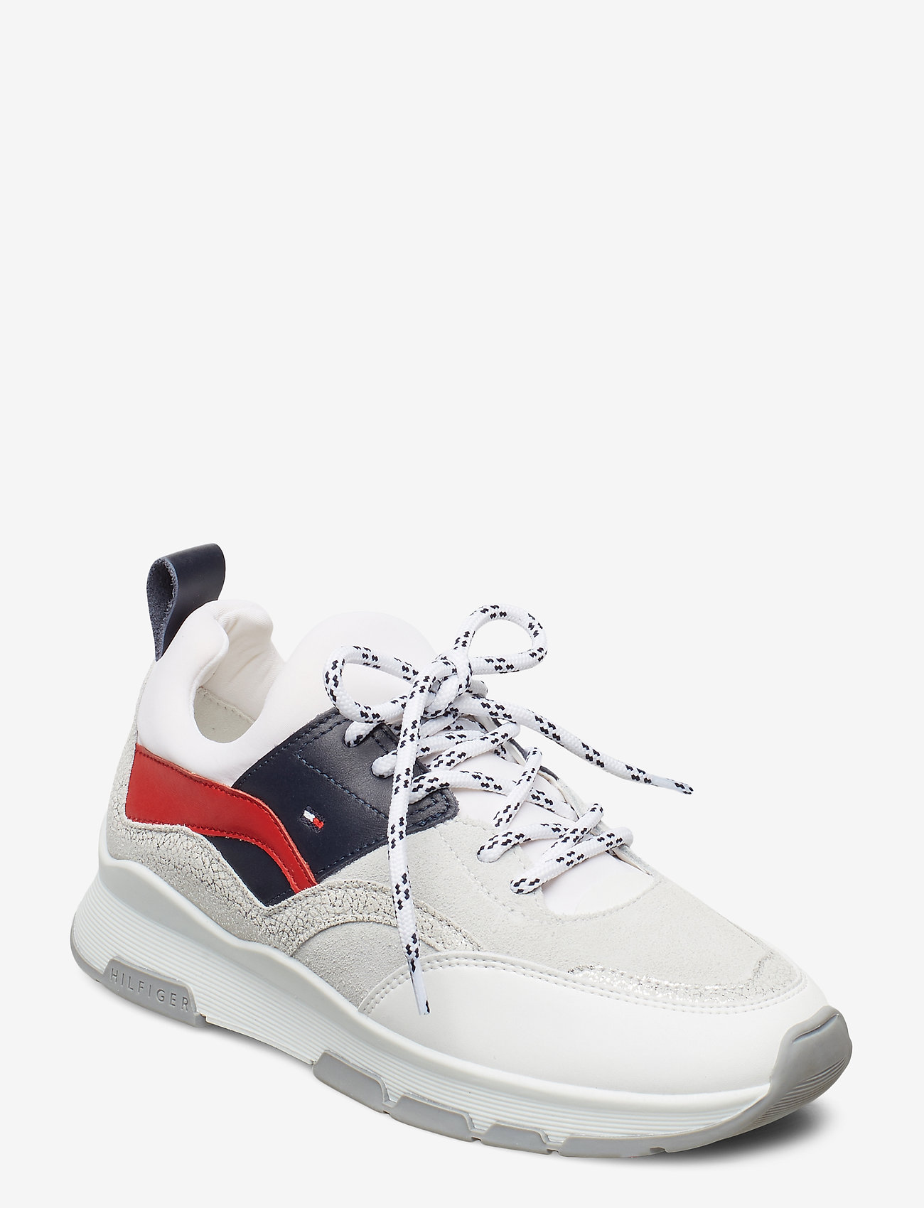 Tommy Hilfiger - SPORTY CHUNKY GLITTER SNEAKER - low top sneakers - rwb - 0