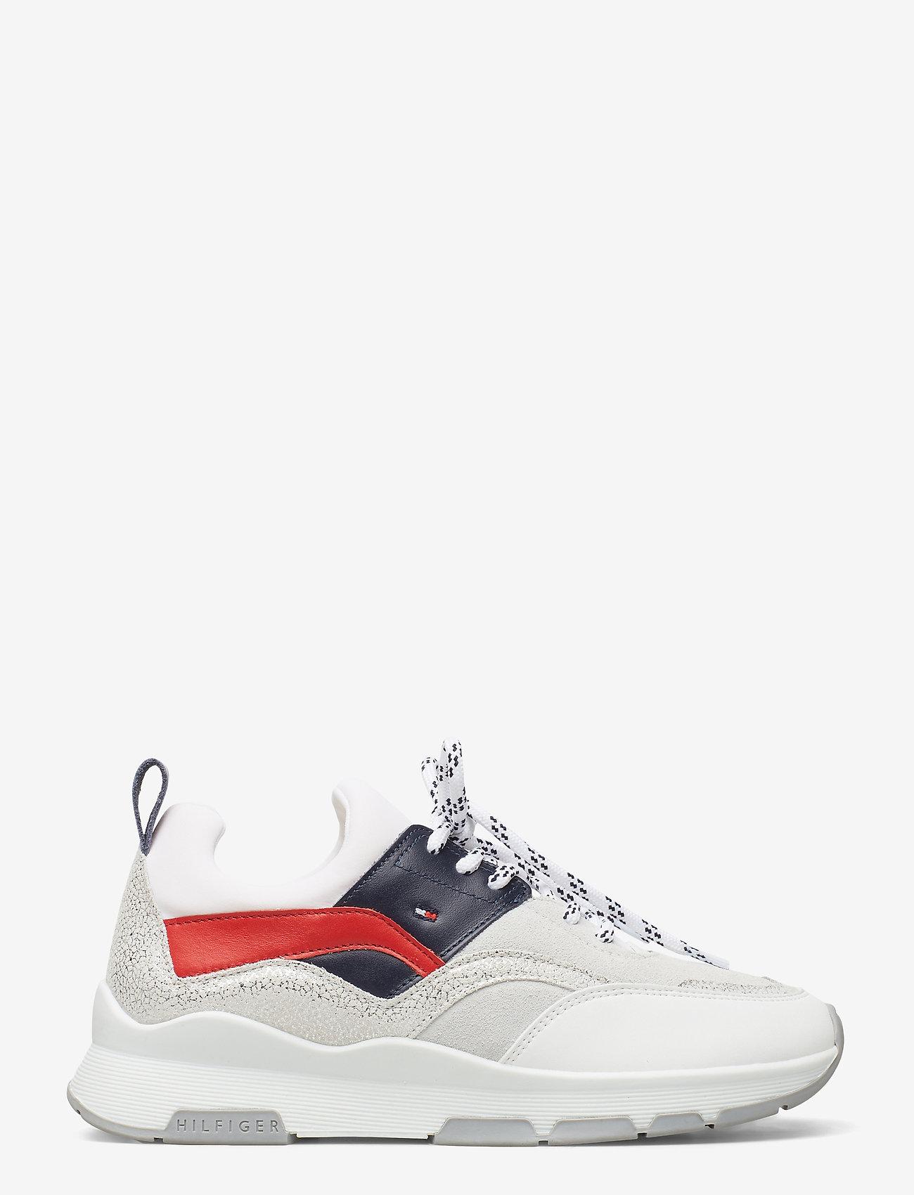 Tommy Hilfiger - SPORTY CHUNKY GLITTER SNEAKER - low top sneakers - rwb - 1