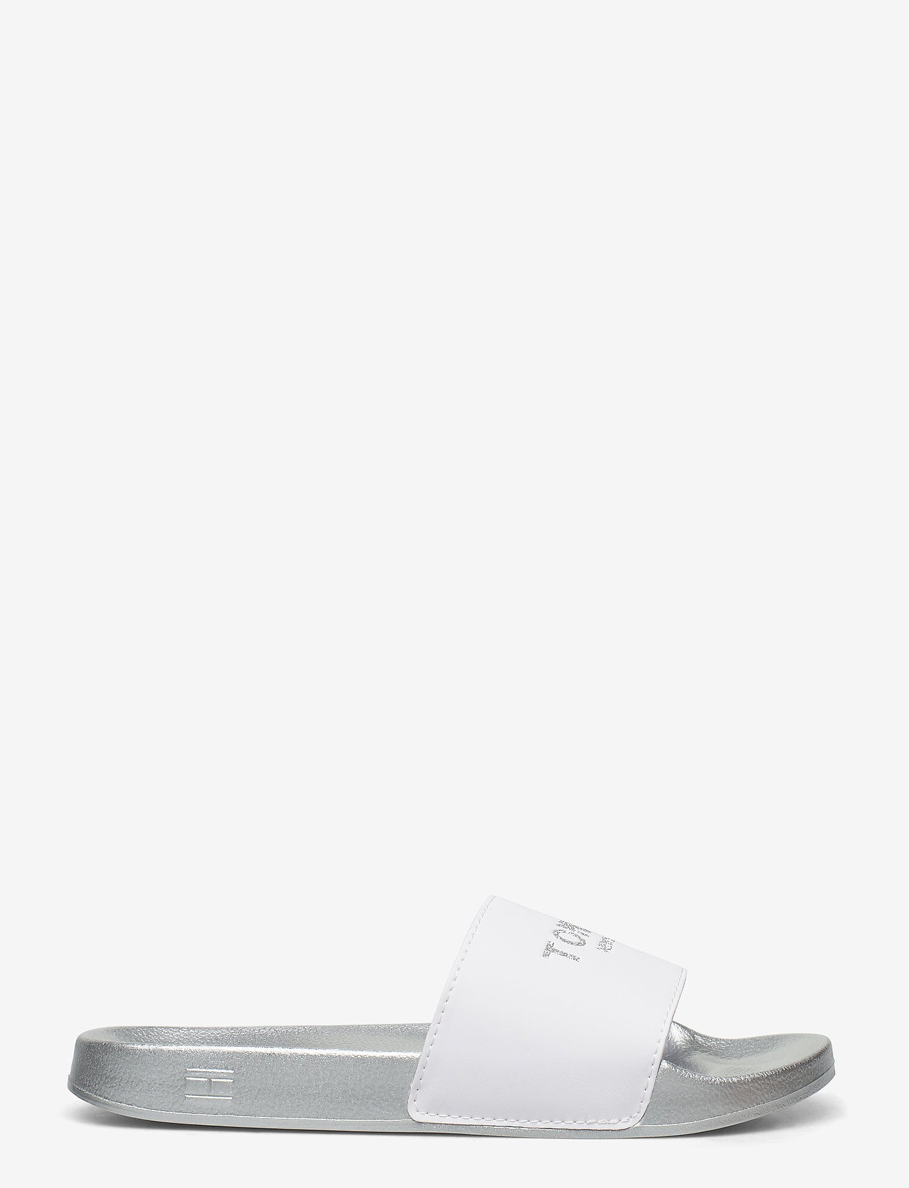 Tommy Hilfiger - TH GLITTER POOL SLIDE - pool sliders - white - 1