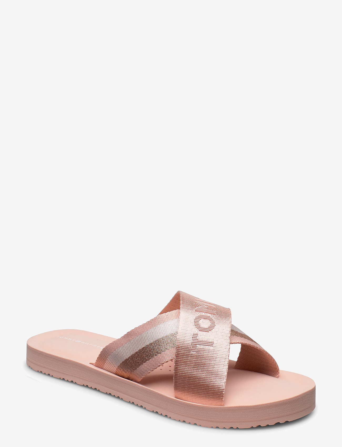 Tommy Hilfiger - TOMMY STRAP COMFY BEACH SANDAL - matalat sandaalit - cameo - 0