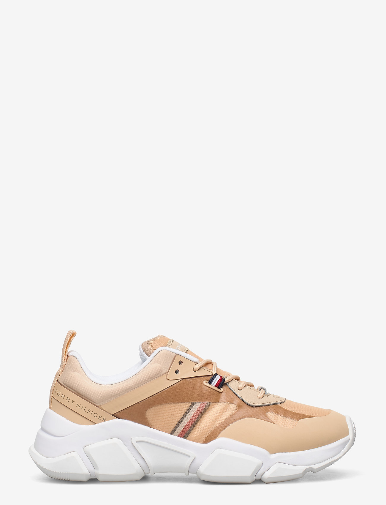 Tommy Hilfiger - TECHNICAL CHUNKY TOMMY SNEAKER - chunky sneakers - light gold - 1