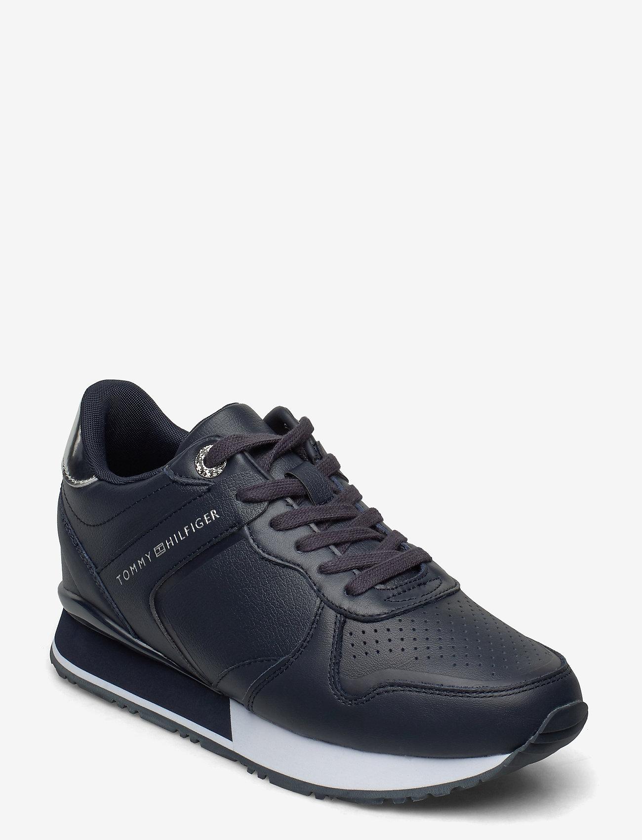 Dressy Wedge Sneaker (Desert Sky) (119