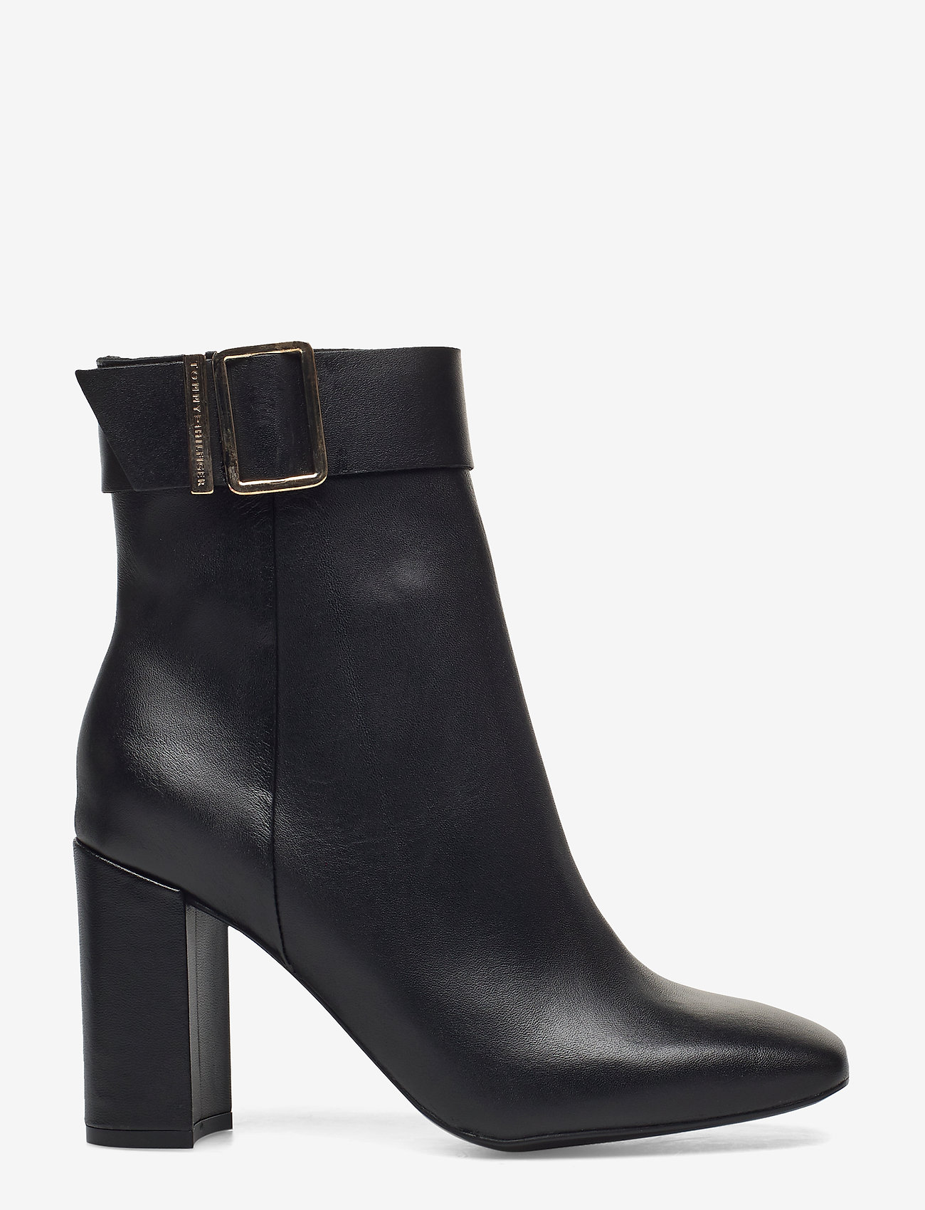 Tommy Hilfiger - BASIC SQUARE TOE BOOT - heeled ankle boots - black - 1