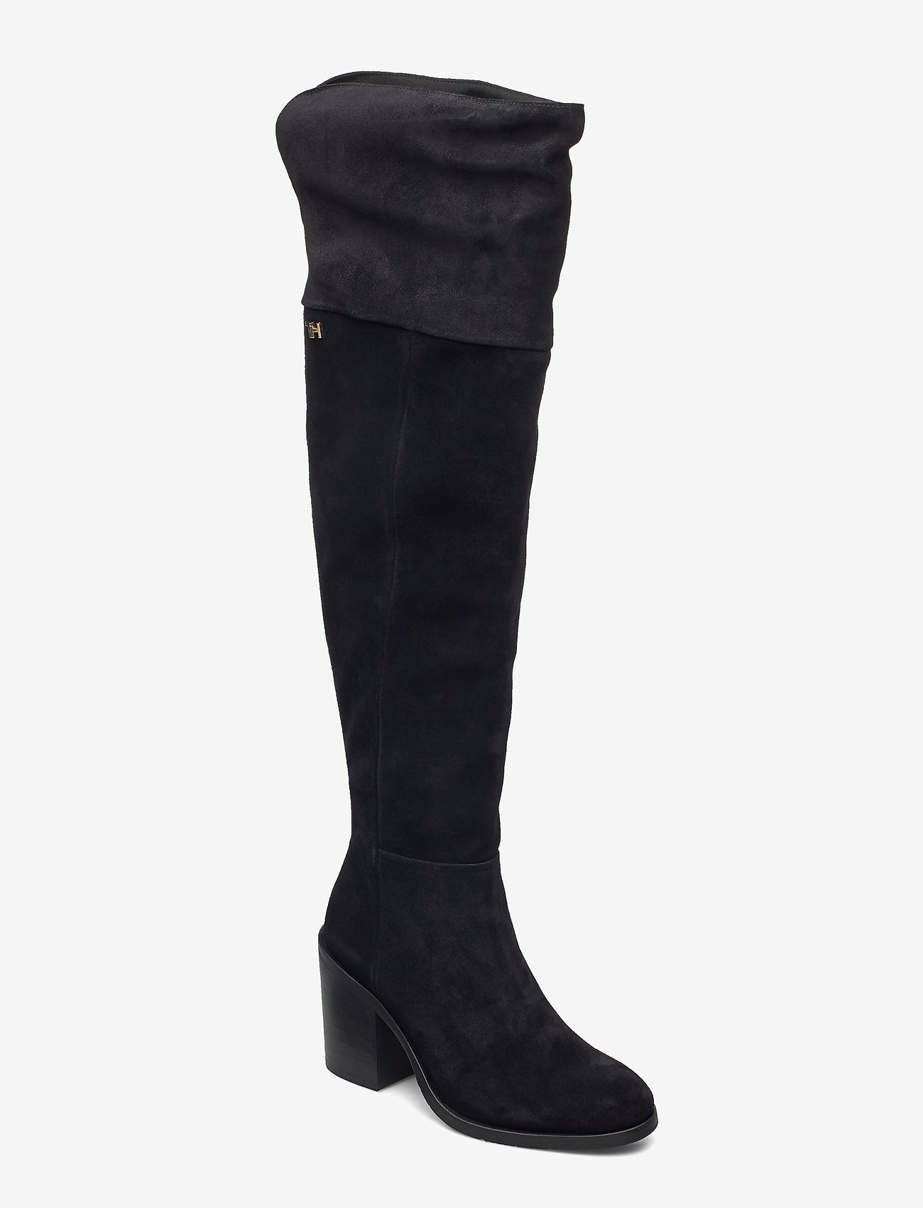 Tommy Hilfiger - MODERN TOMMY OVERKNEE BOOT - long boots - black - 0