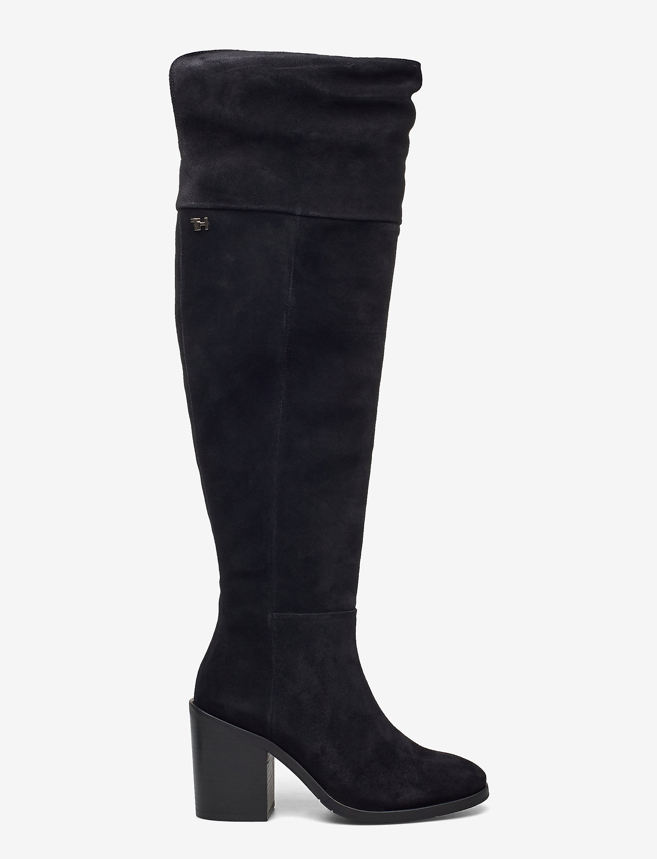 Tommy Hilfiger - MODERN TOMMY OVERKNEE BOOT - long boots - black - 1