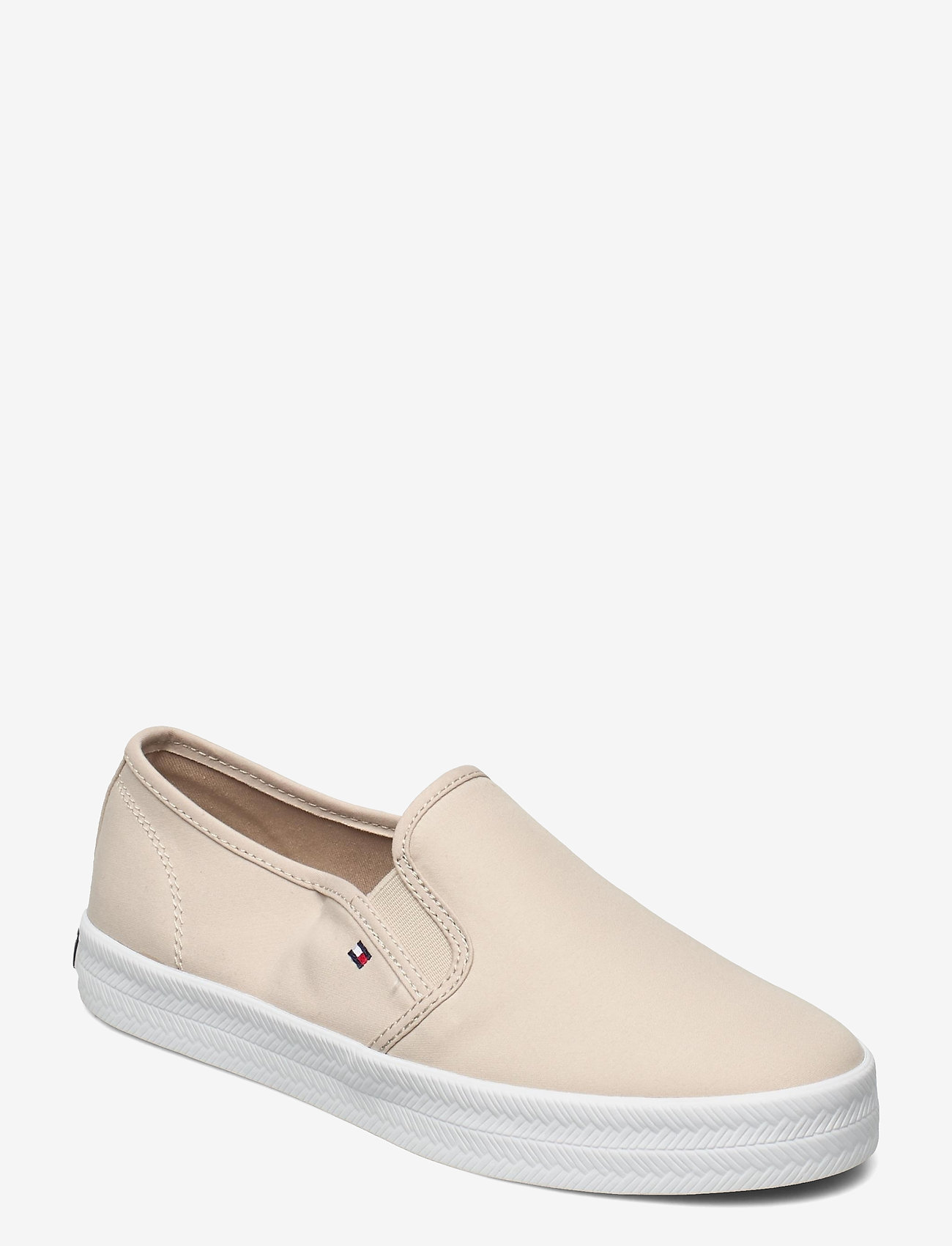 Tommy Hilfiger - ESSENTIAL NAUTICAL SLIP ON - slip-on sneakers - classic beige - 0