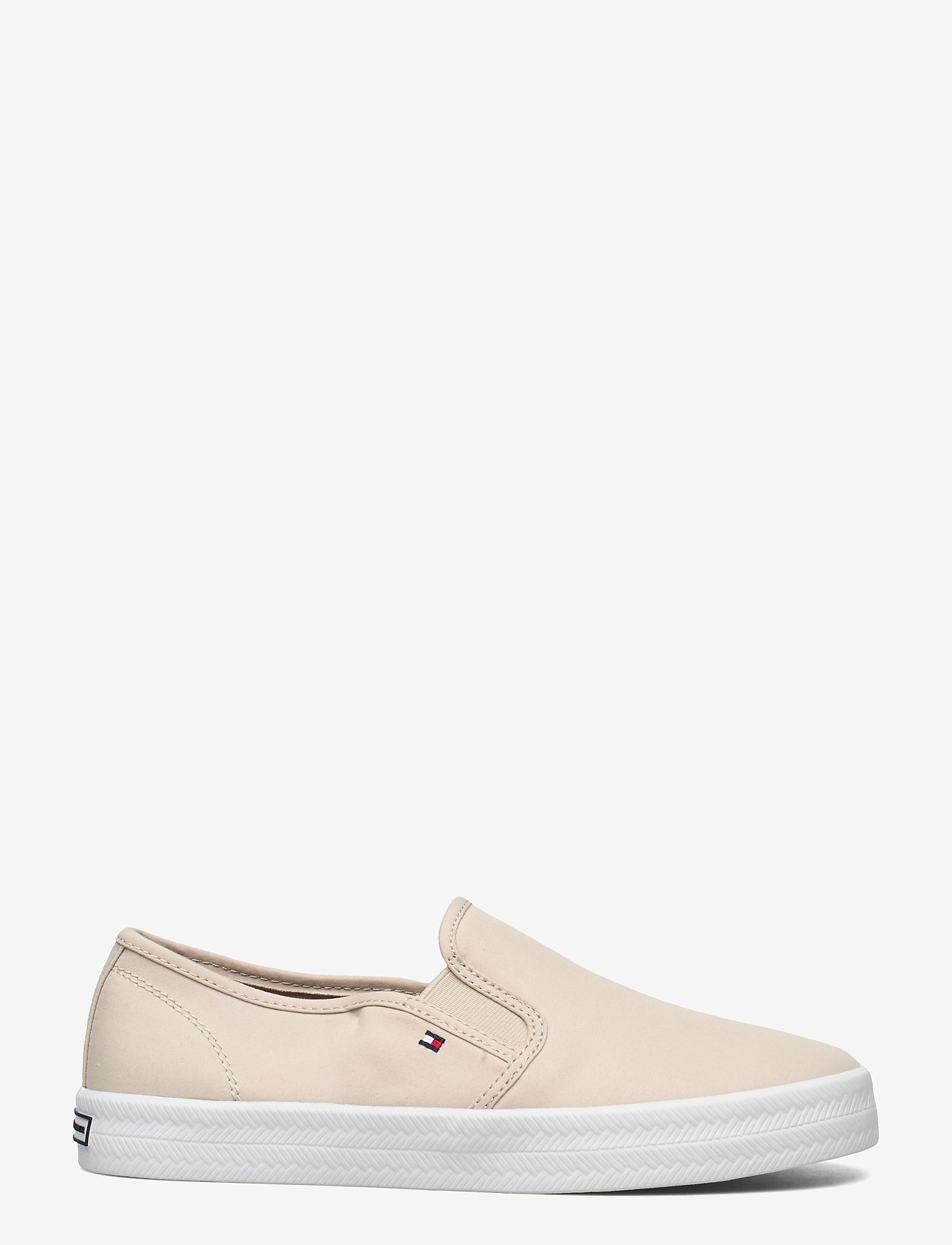 Tommy Hilfiger - ESSENTIAL NAUTICAL SLIP ON - slip-on sneakers - classic beige - 1