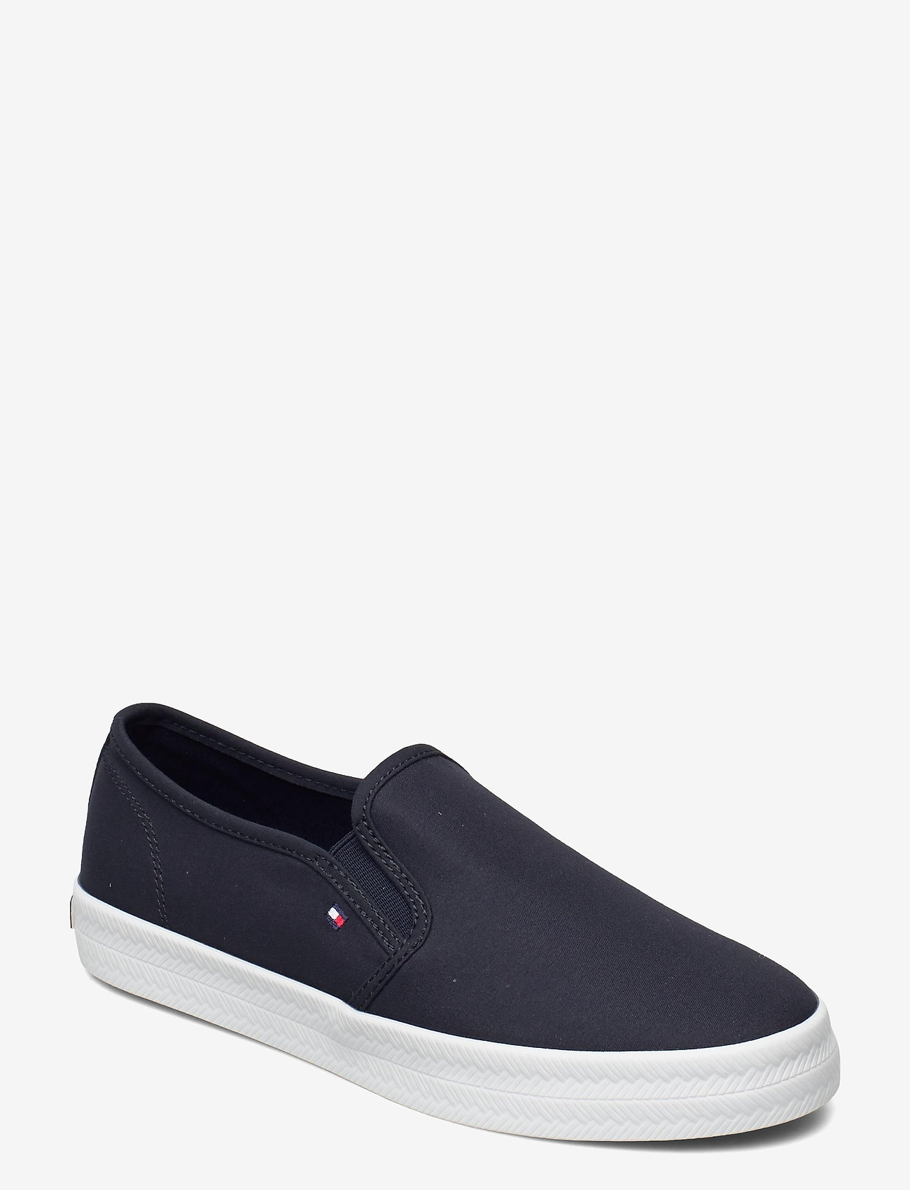 Tommy Hilfiger - ESSENTIAL NAUTICAL SLIP ON - slip-on sneakers - desert sky - 0