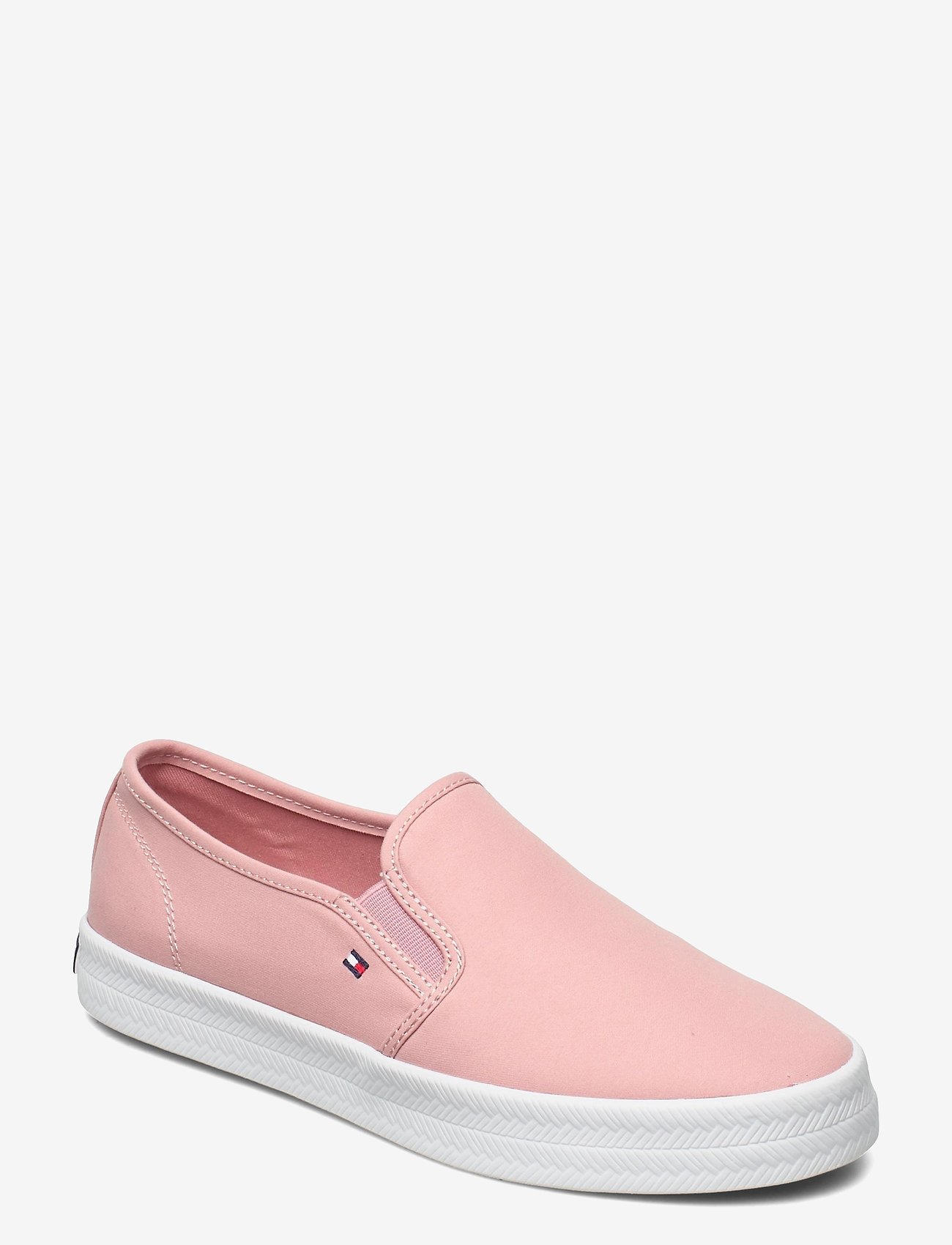 Tommy Hilfiger - ESSENTIAL NAUTICAL SLIP ON - slip-on sneakers - soothing pink - 0