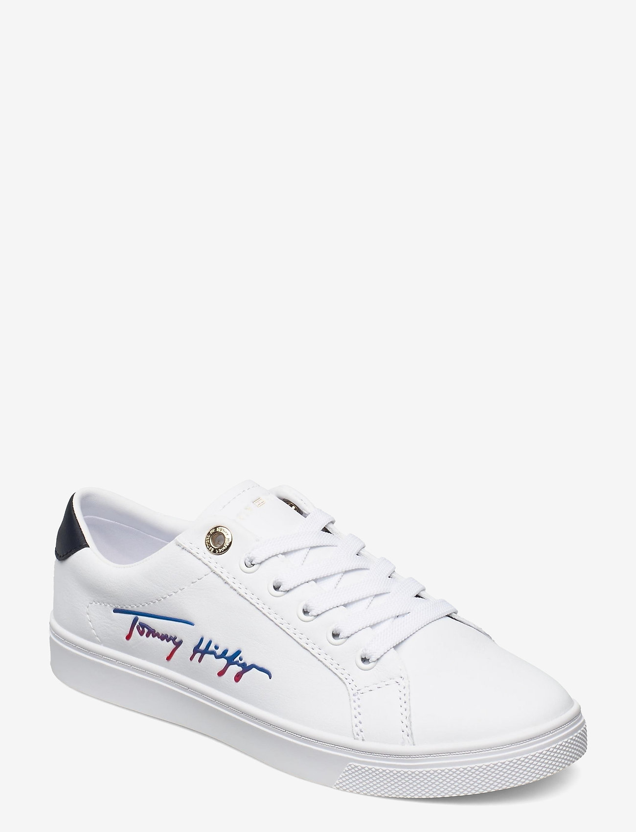 Tommy Hilfiger - TH SIGNATURE CUPSOLE SNEAKER - low top sneakers - white - 0