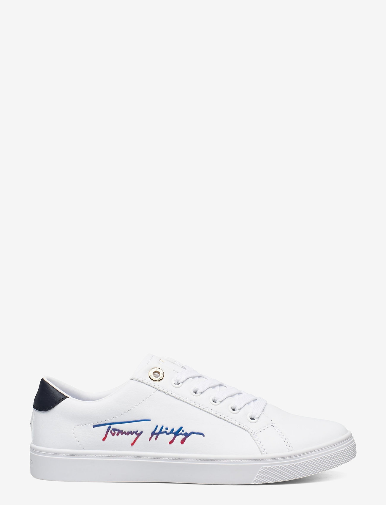 Tommy Hilfiger - TH SIGNATURE CUPSOLE SNEAKER - low top sneakers - white - 1