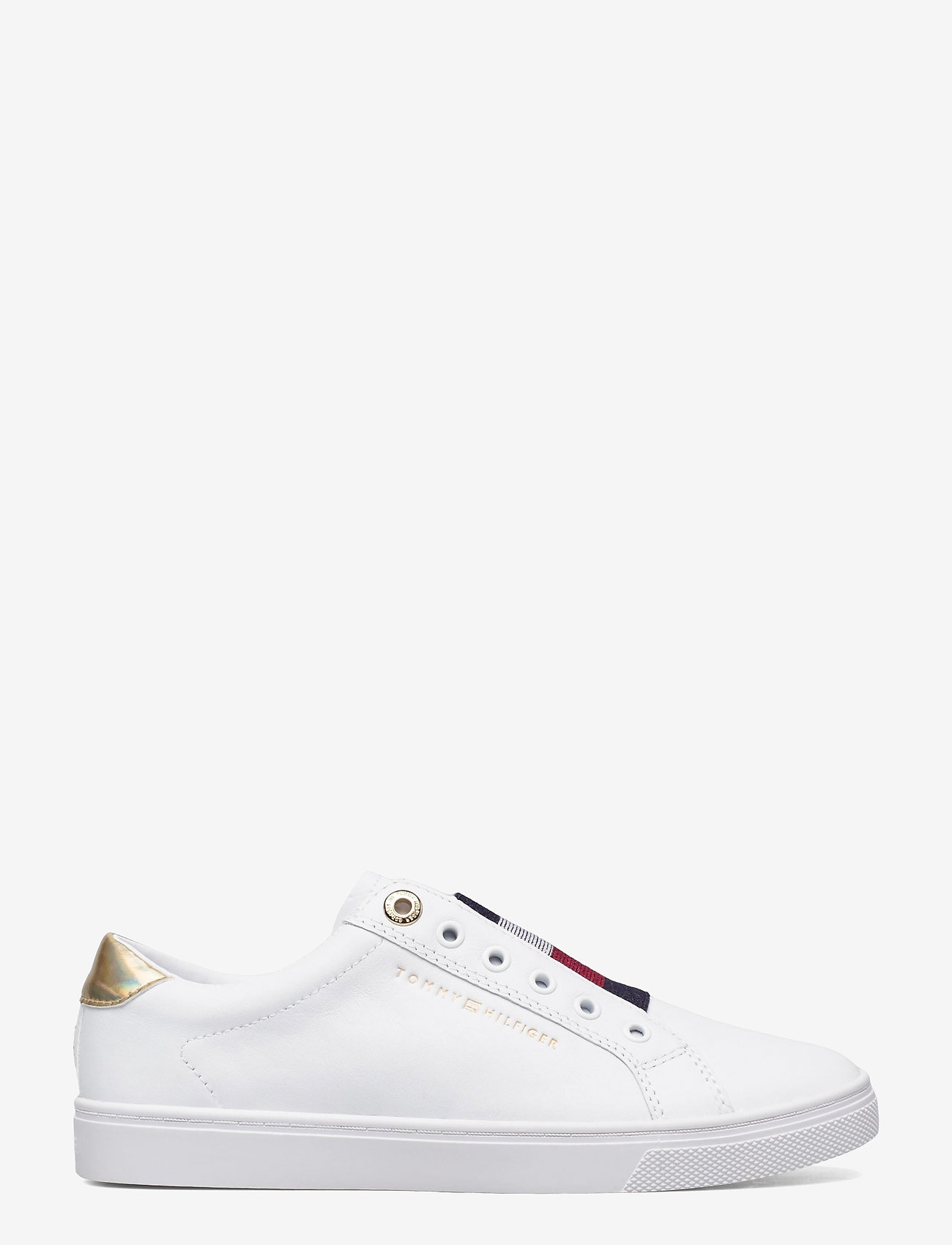 Tommy Hilfiger - TH ELASTIC SLIP ON SNEAKER - slip-on sneakers - white - 1