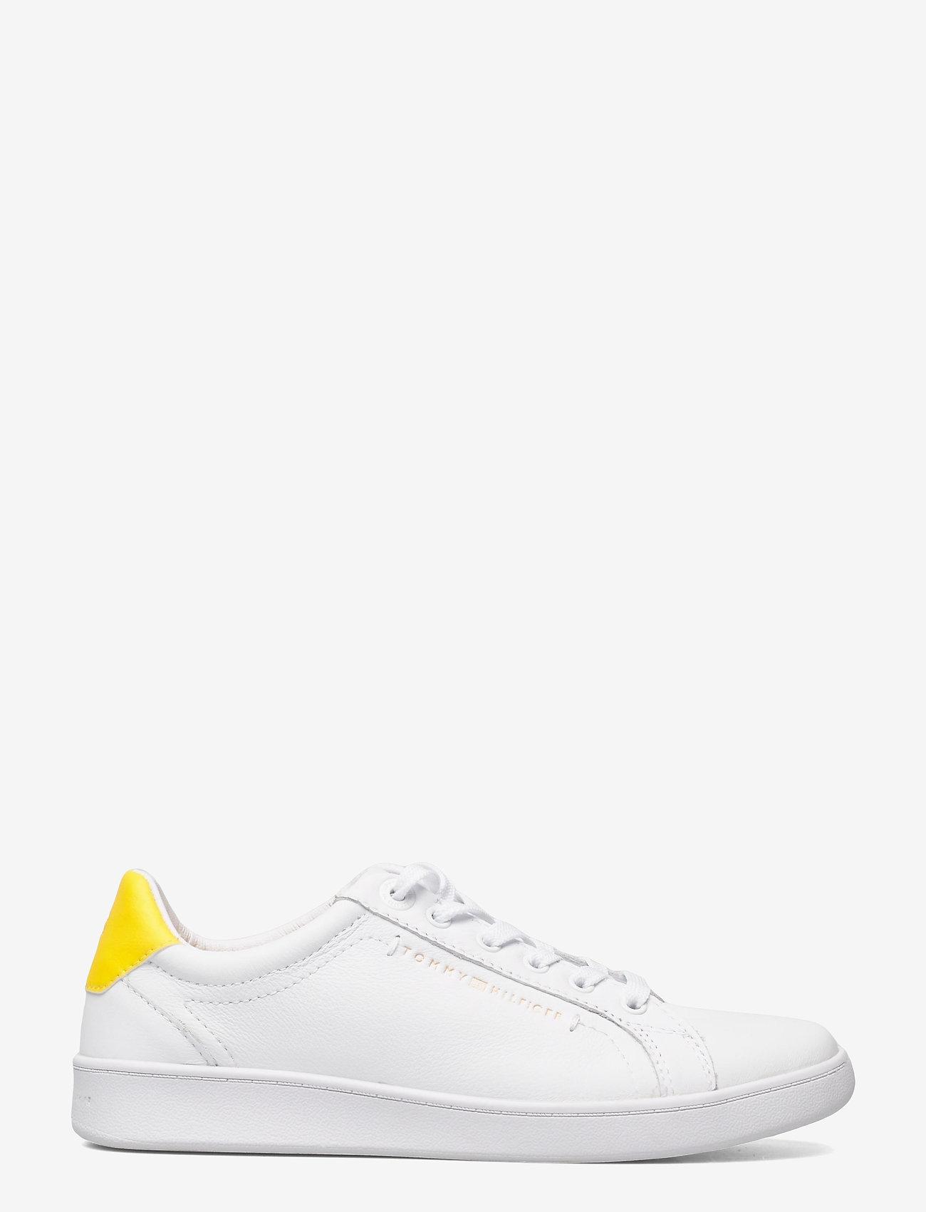 Tommy Hilfiger - PREMIUM COURT SNEAKER - low top sneakers - vivid yellow - 1