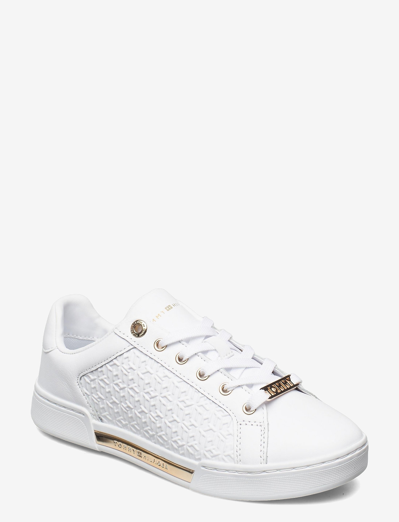 Tommy Hilfiger - TH MONOGRAM ELEVATED SNEAKER - low top sneakers - white - 0
