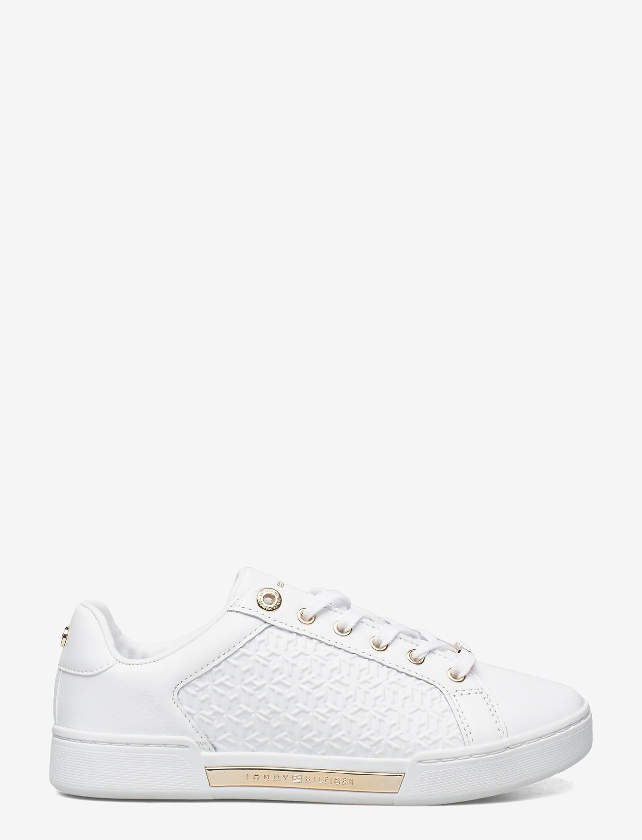 Tommy Hilfiger - TH MONOGRAM ELEVATED SNEAKER - low top sneakers - white - 1