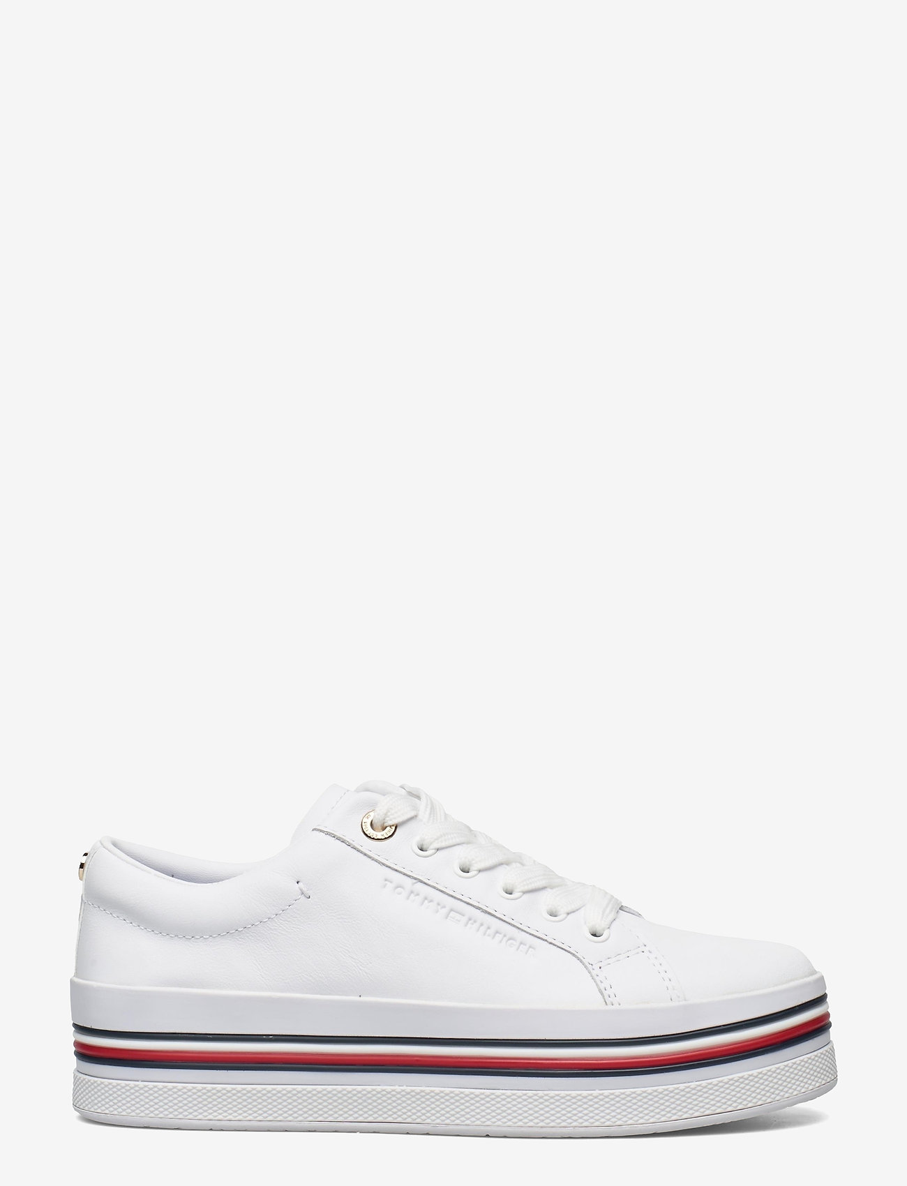Tommy Hilfiger - CORPORATE FLATFORM CUPSOLE - sneakers - white - 1