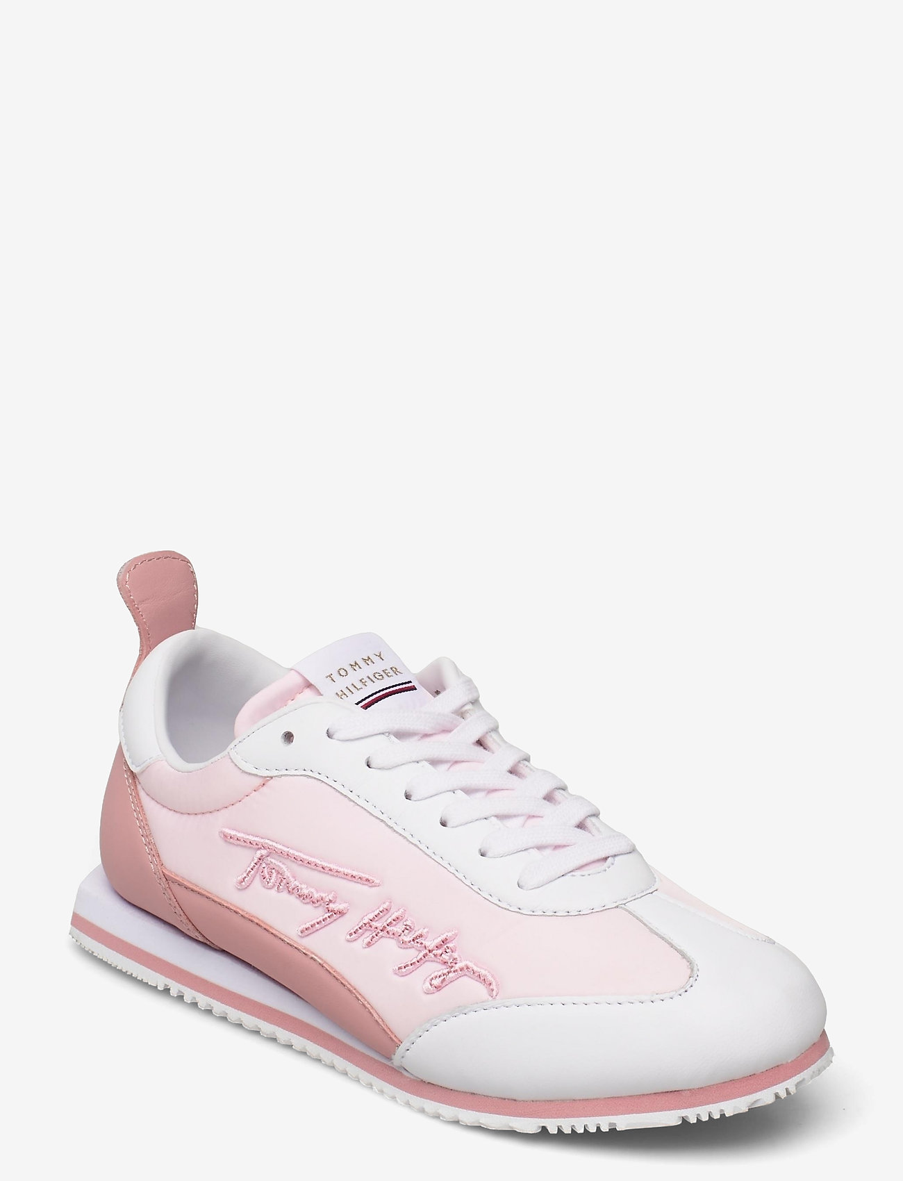 Tommy Hilfiger - SIGNATURE RETRO RUNNER - low top sneakers - light pink - 0