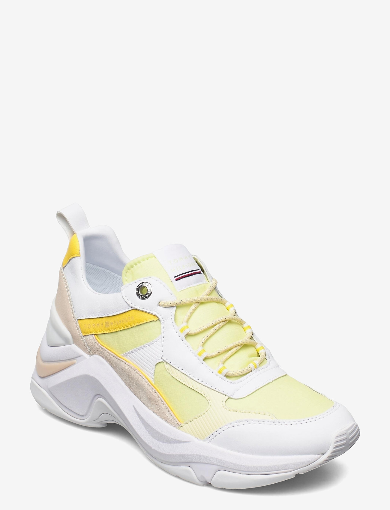 Tommy Hilfiger - FASHION WEDGE SNEAKER - chunky sneakers - frosted lemon - 0