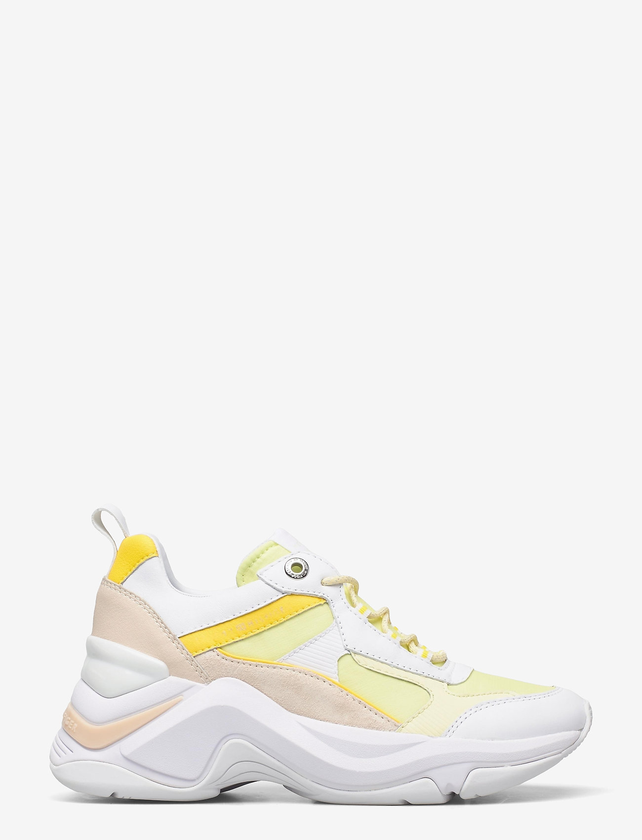 Tommy Hilfiger - FASHION WEDGE SNEAKER - chunky sneakers - frosted lemon - 1