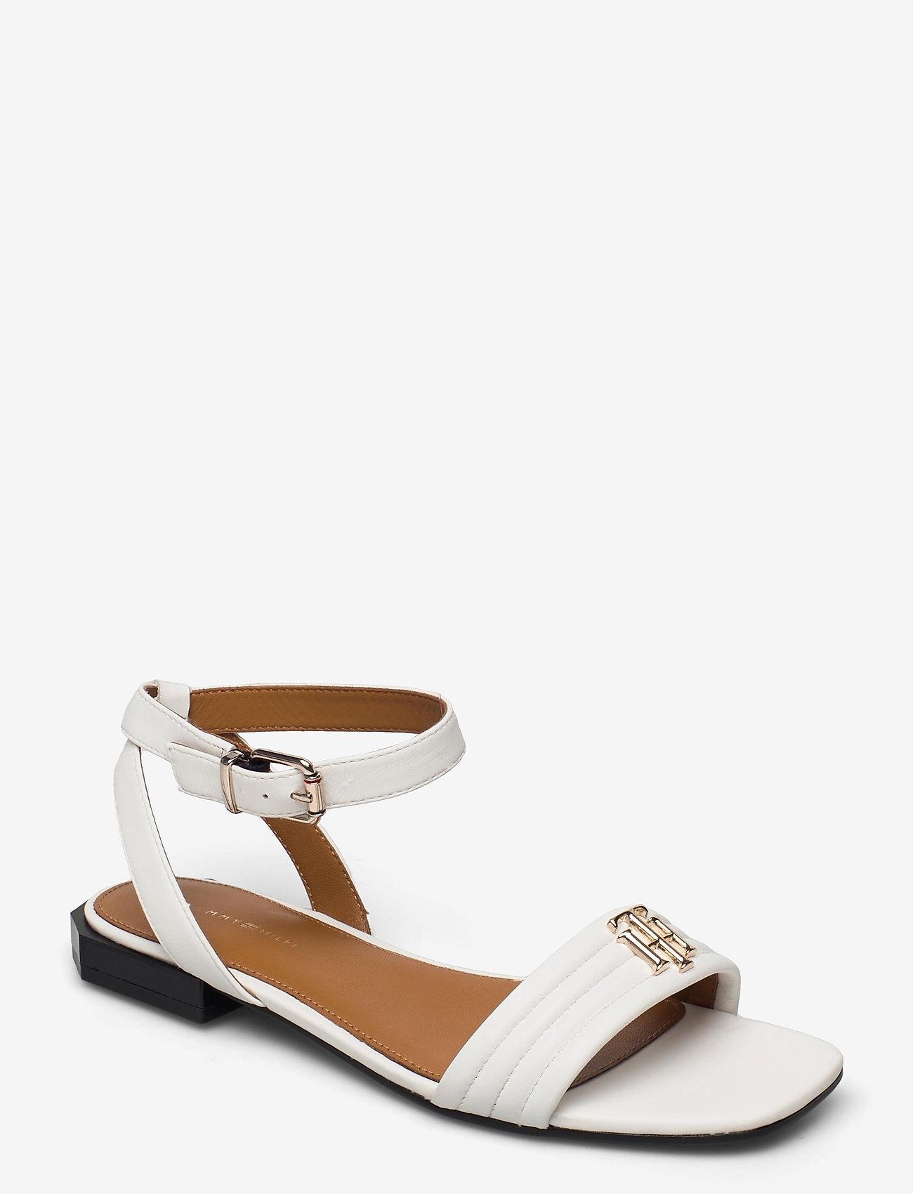 Tommy Hilfiger - TOMMY PADDED FLAT SANDAL - flat sandals - ecru - 0