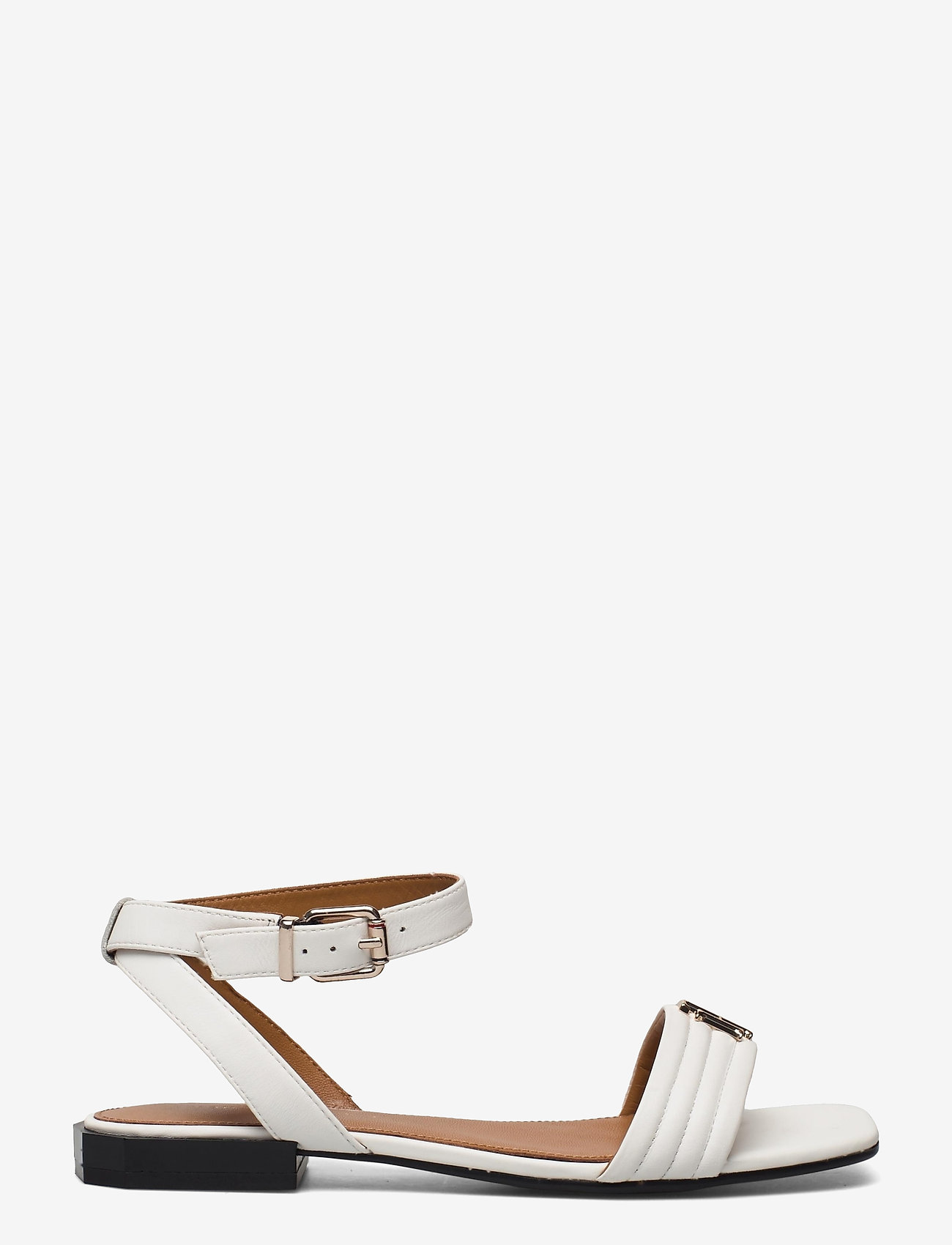 Tommy Hilfiger - TOMMY PADDED FLAT SANDAL - flat sandals - ecru - 1