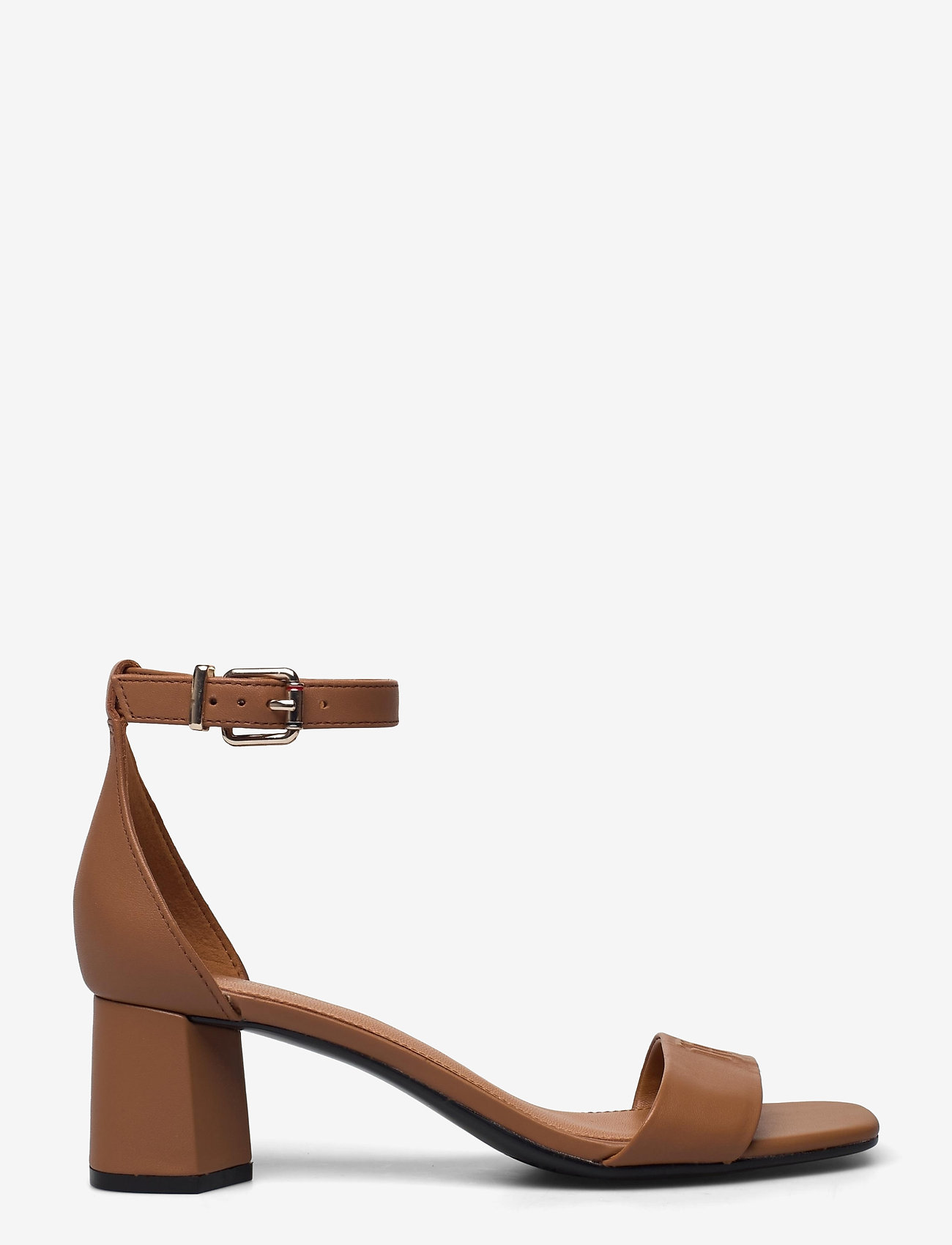 Tommy Hilfiger - ESSENTIAL MID HEEL SANDAL - heeled sandals - summer cognac - 1