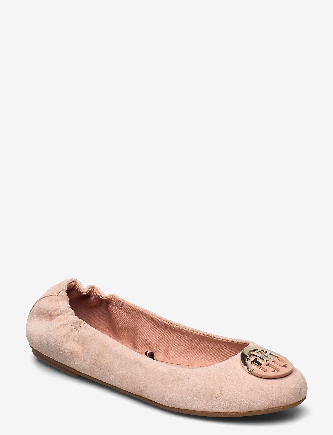 Tommy Hilfiger - ESSENTIAL HARDWARE BALLERINA - ballerinas - sandbank - 0