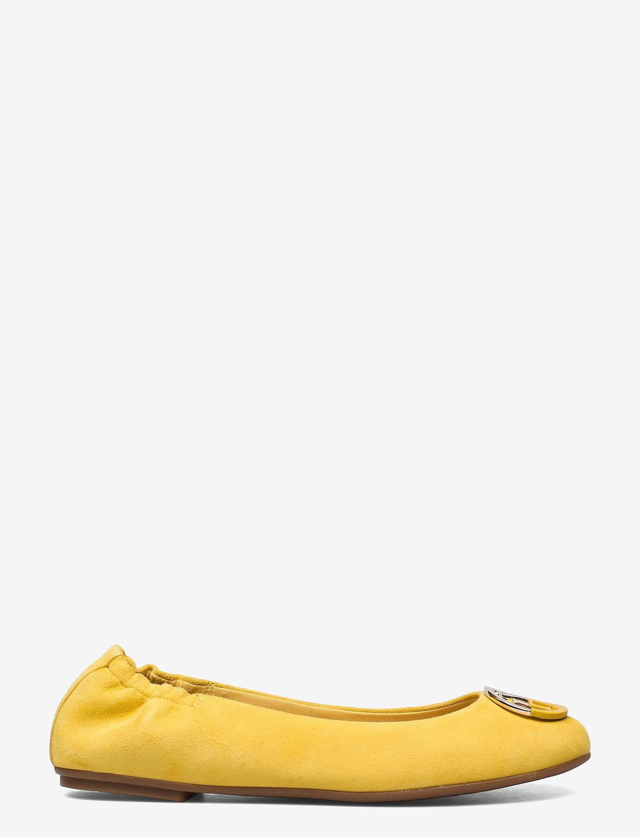 Tommy Hilfiger - ESSENTIAL HARDWARE BALLERINA - ballerinas - tuscan yellow - 1