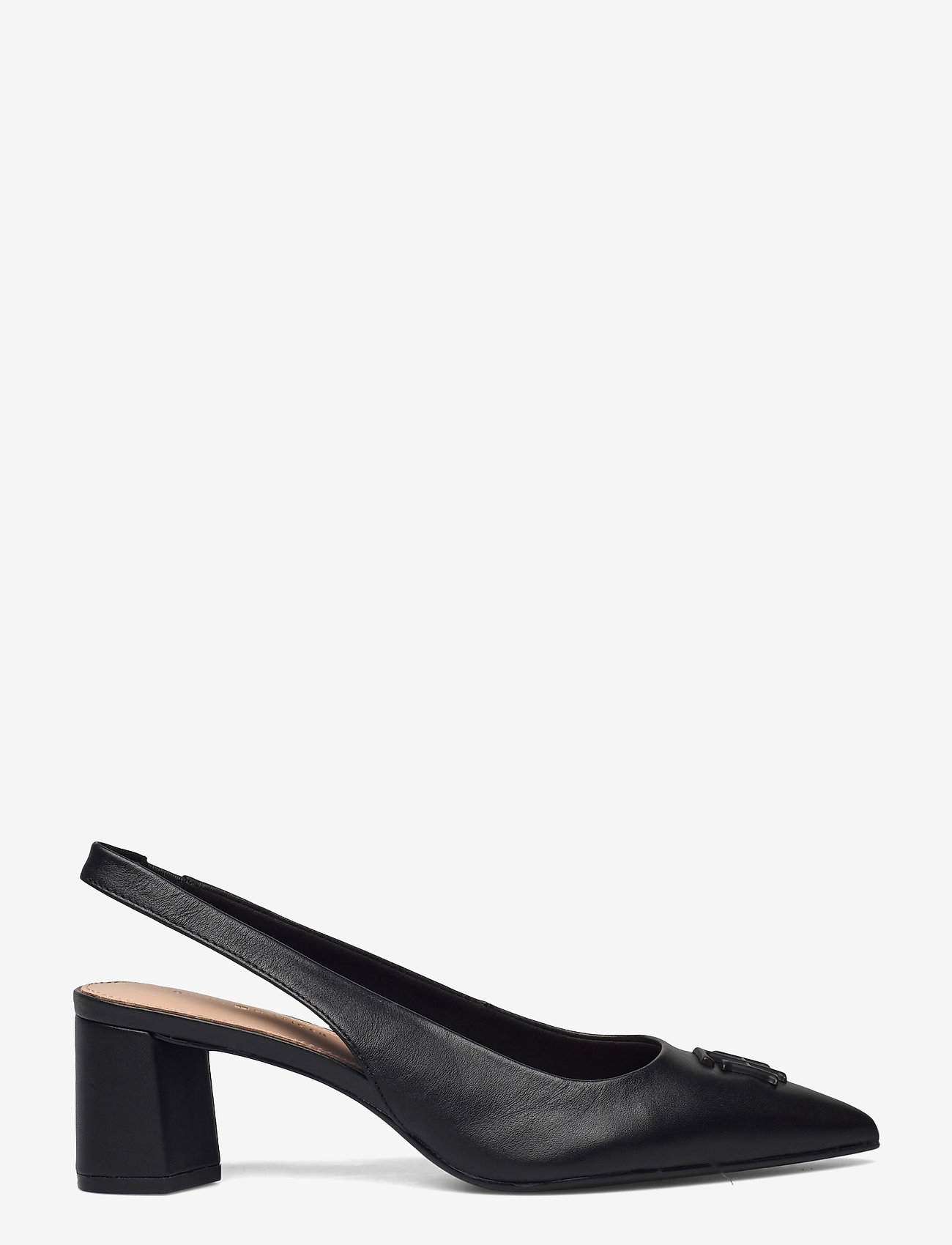 Tommy Hilfiger - FEMININE SLING BACK PUMP - sling backs - black - 1