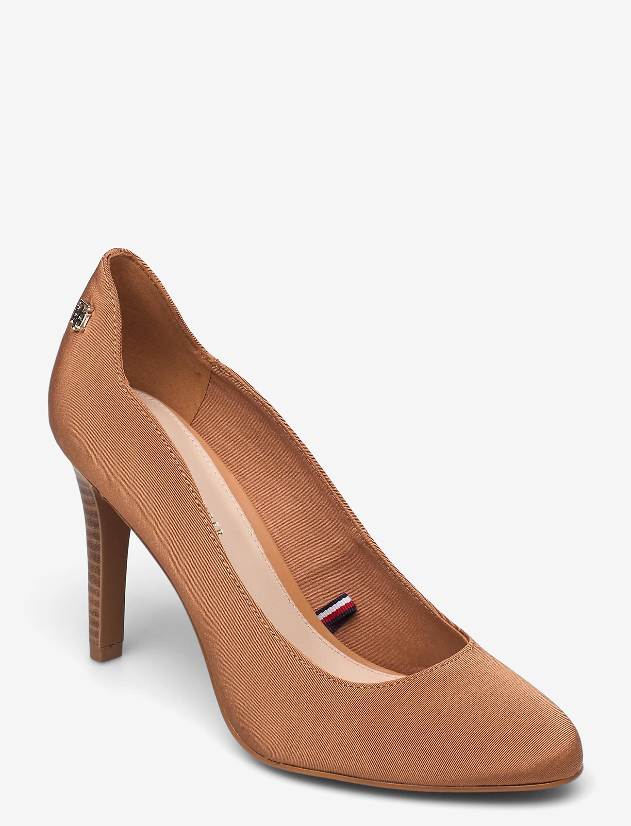 Tommy Hilfiger - TOMMY ESSENTIAL HIGH HEEL PUMP - classic pumps - dusty bronze - 0