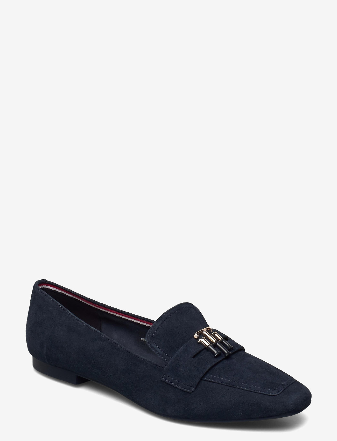 Tommy Hilfiger - ESSENTIAL HARDWARE LOAFER - loafers - desert sky - 0
