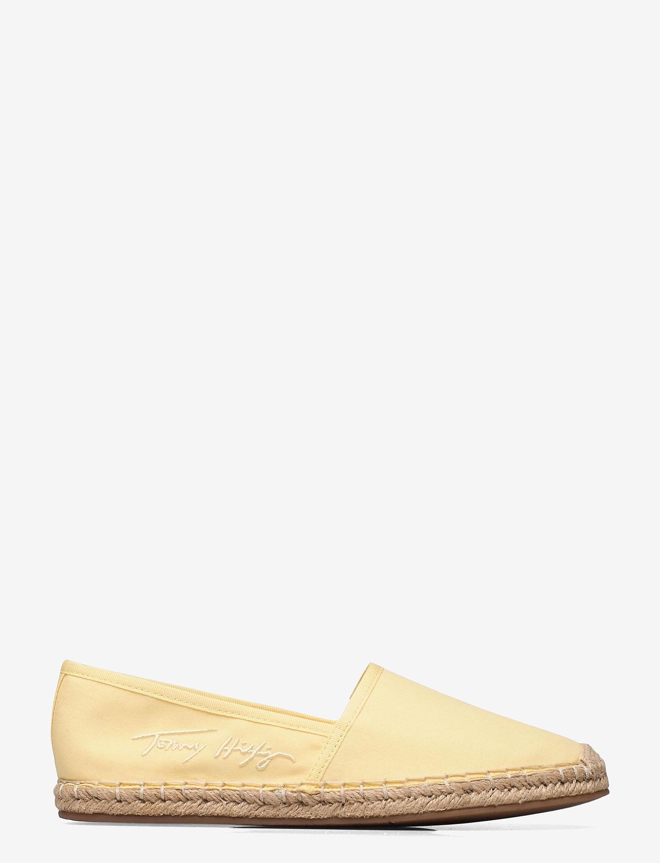 Tommy Hilfiger - TH SIGNATURE ESPADRILLE - platta espadriller - delicate yellow - 0
