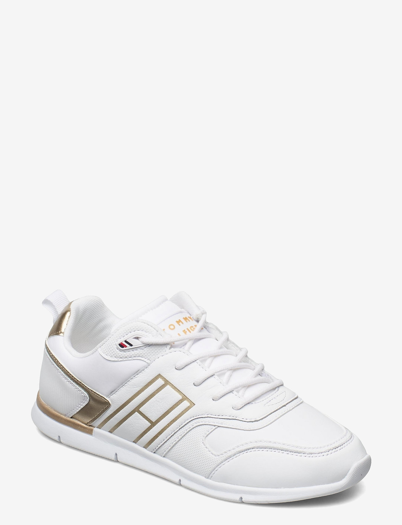 Tommy Hilfiger - METALLIC LIGHTWEIGHT SNEAKER - low top sneakers - gold - 0