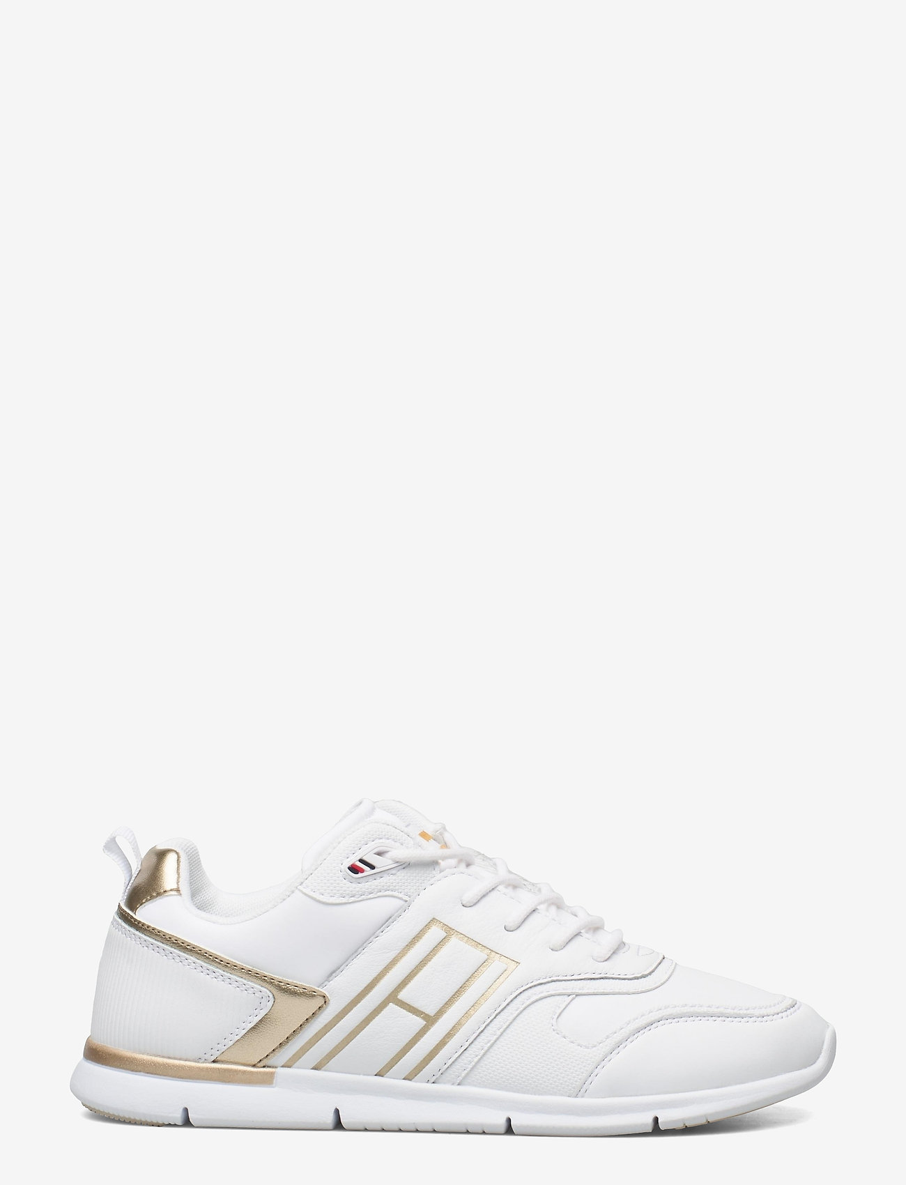 Tommy Hilfiger - METALLIC LIGHTWEIGHT SNEAKER - low top sneakers - gold - 1