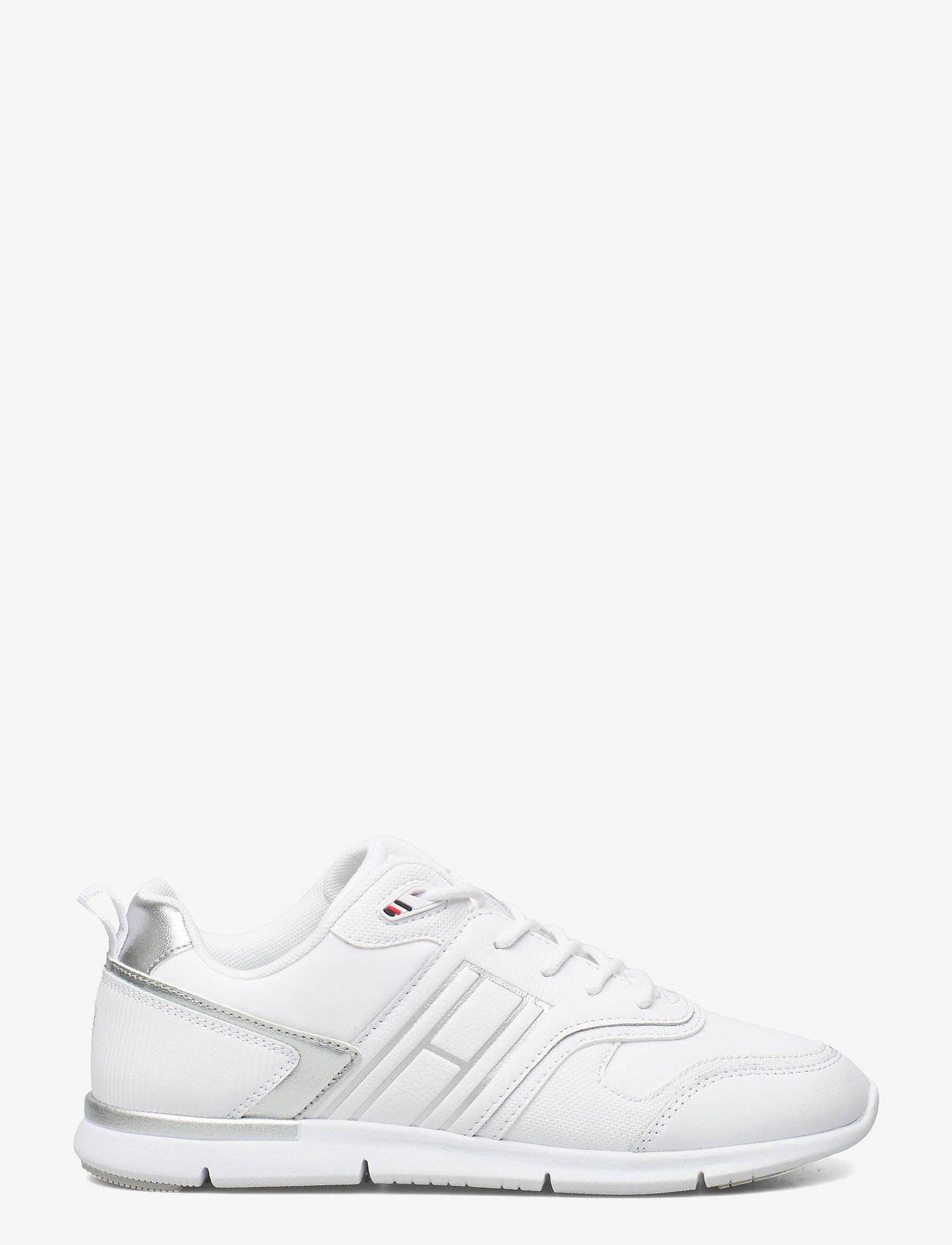 Tommy Hilfiger - METALLIC LIGHTWEIGHT SNEAKER - low top sneakers - white - 1