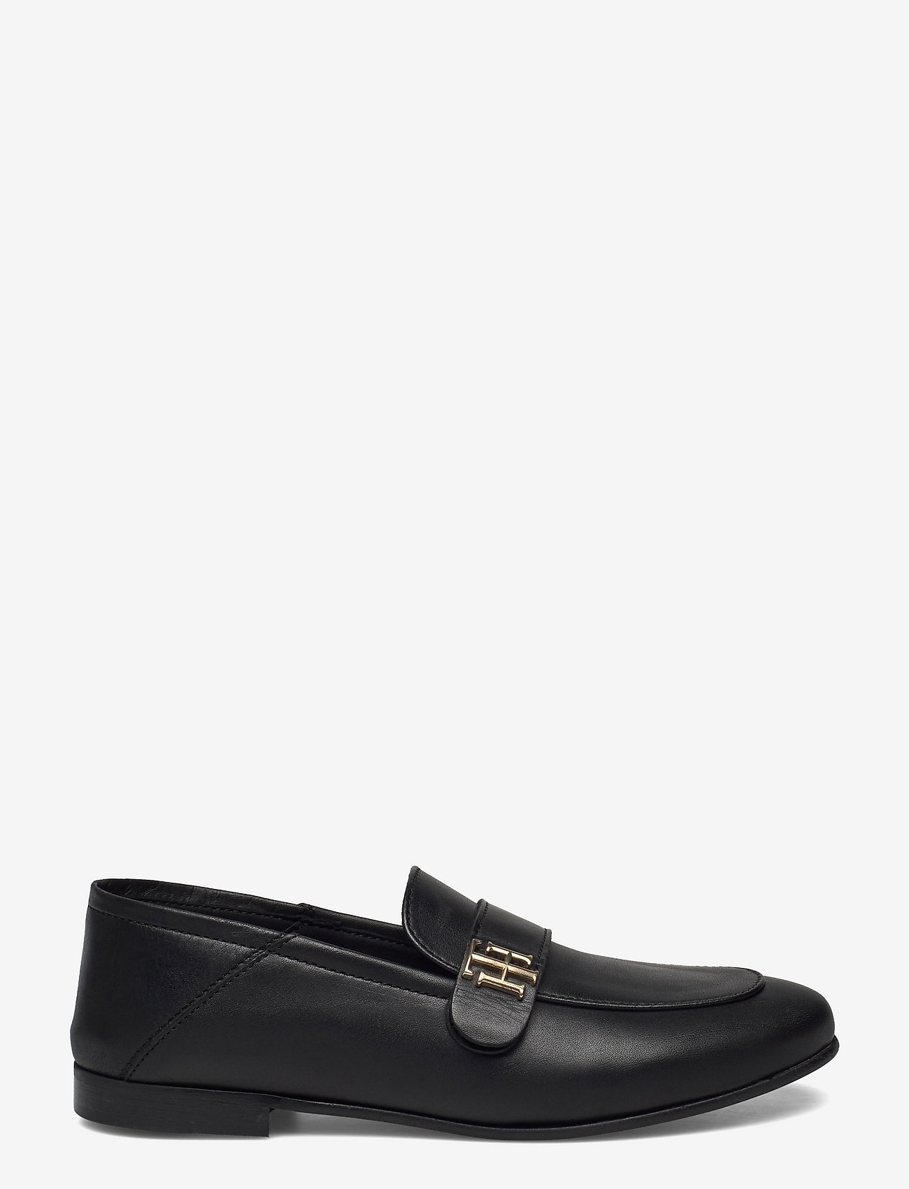 Tommy Hilfiger - TH ESSENTIALS LEATHER LOAFER - loafers - black - 1