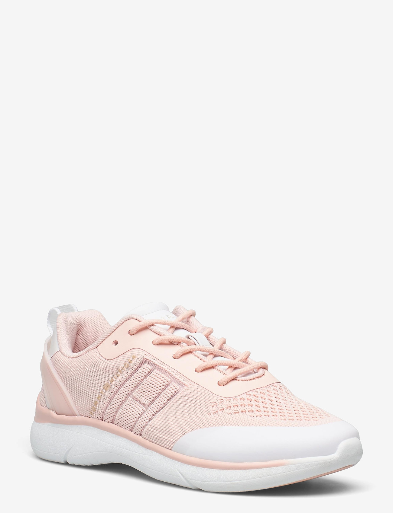 Tommy Hilfiger - KNITTED LIGHT SNEAKER - lave sneakers - dusty rose - 0