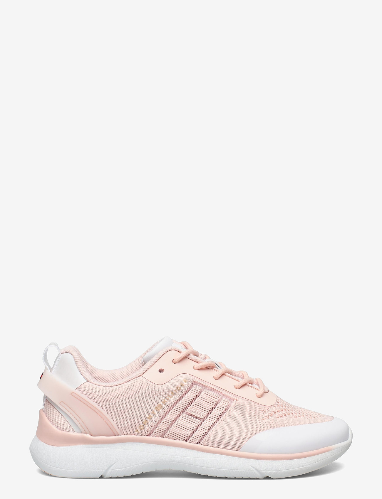 Tommy Hilfiger - KNITTED LIGHT SNEAKER - lave sneakers - dusty rose - 1