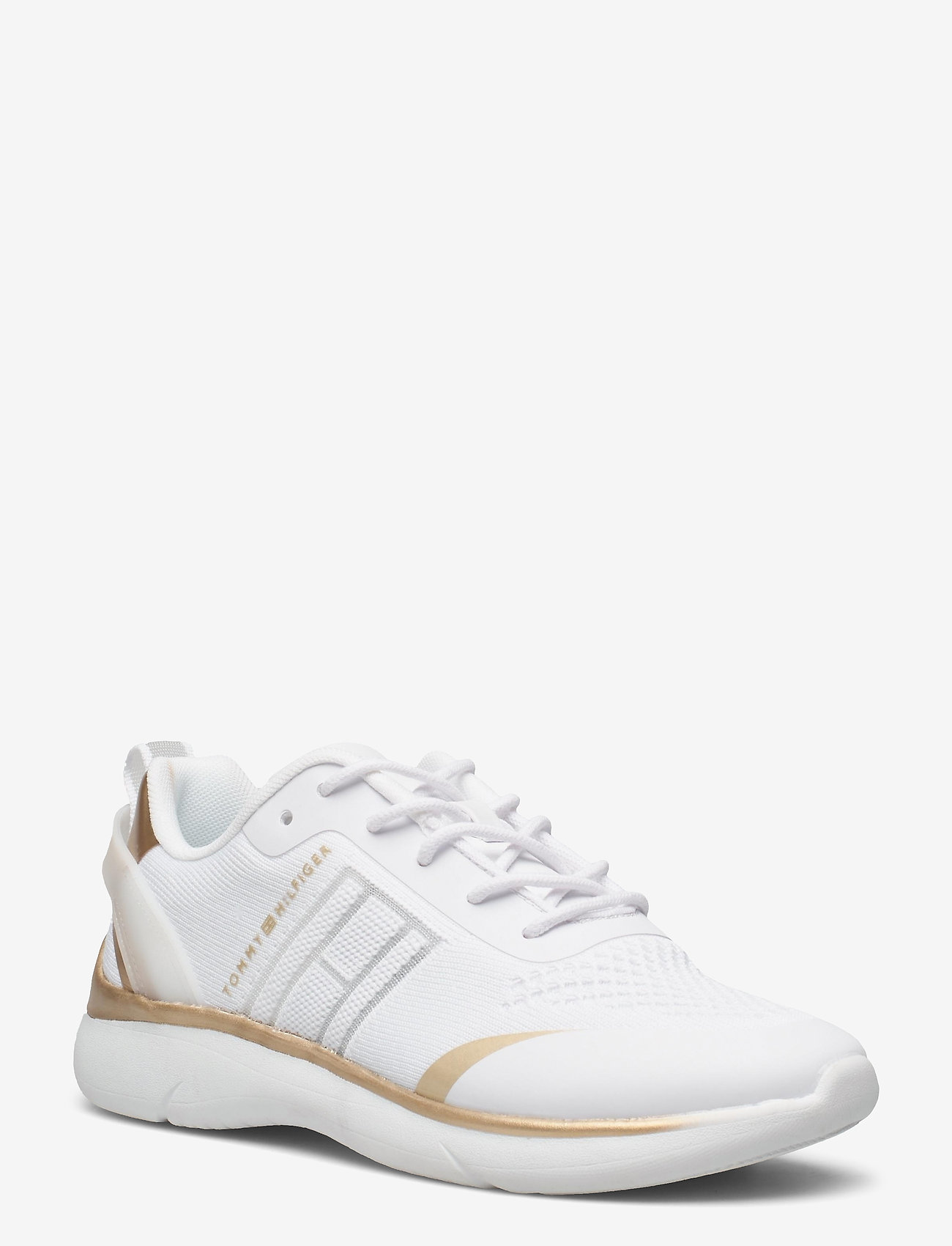 Tommy Hilfiger - KNITTED LIGHT SNEAKER - low top sneakers - white - 0