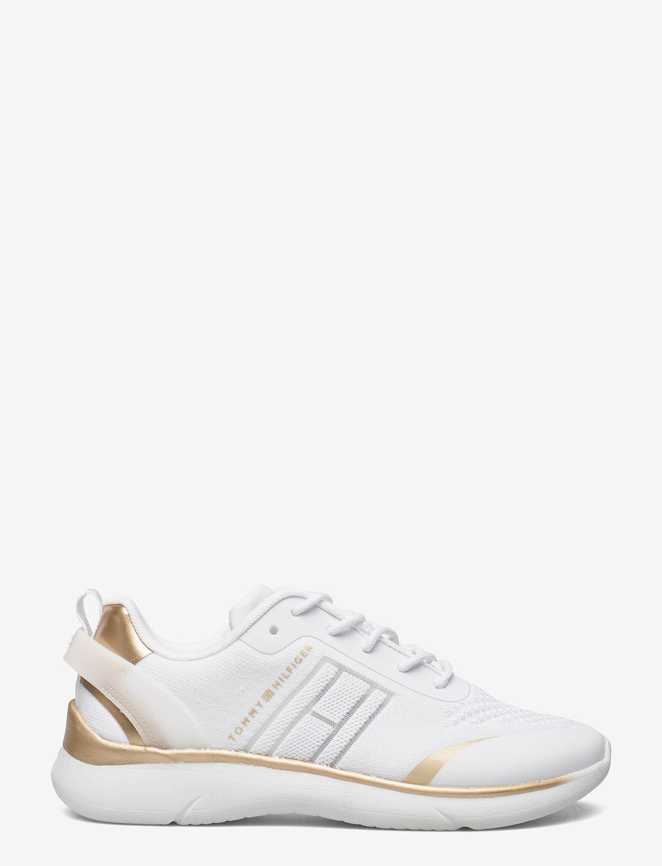 Tommy Hilfiger - KNITTED LIGHT SNEAKER - low top sneakers - white - 1