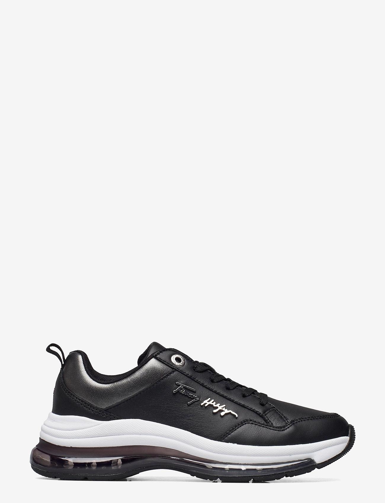 Tommy Hilfiger - CITY AIR RUNNER METALLIC - low top sneakers - black - 0